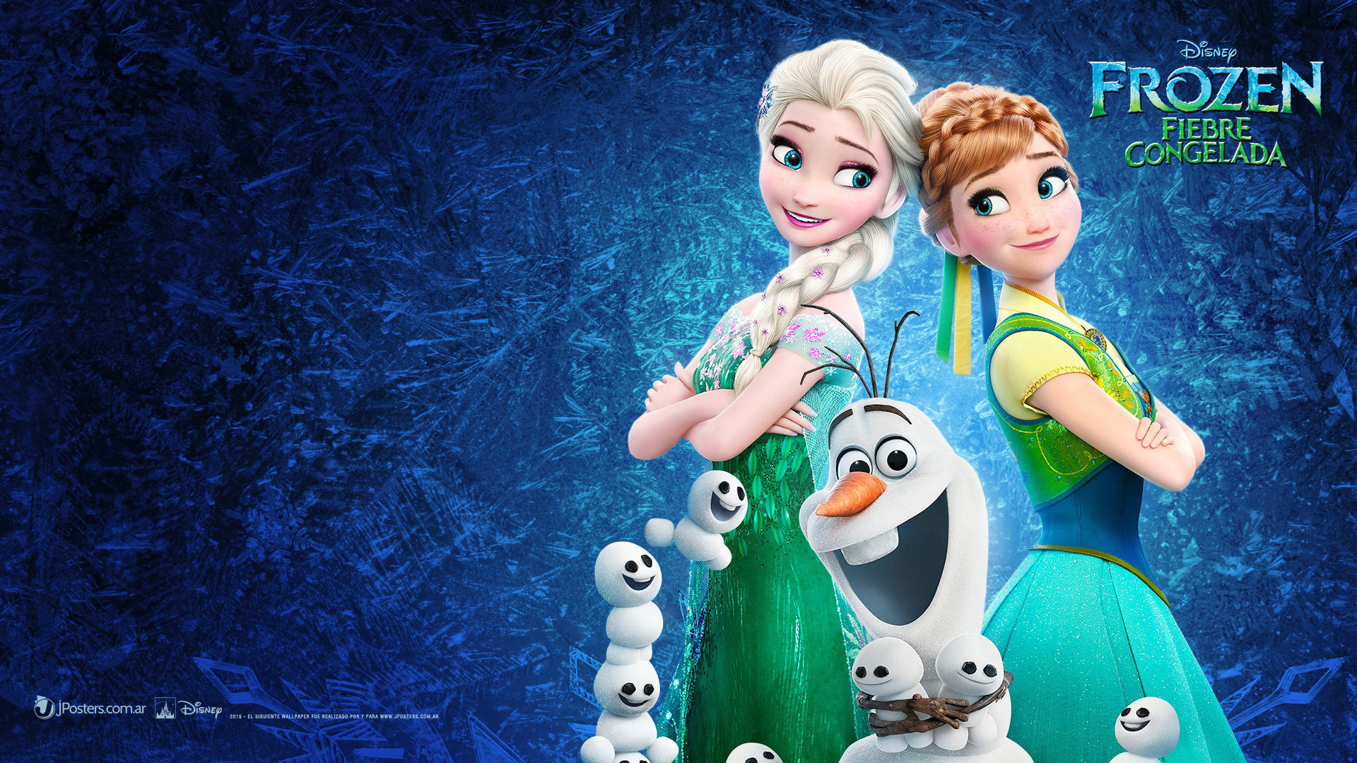 Res: 1920x1080, Frozen - Anna Elsa Olaf Wallpapers