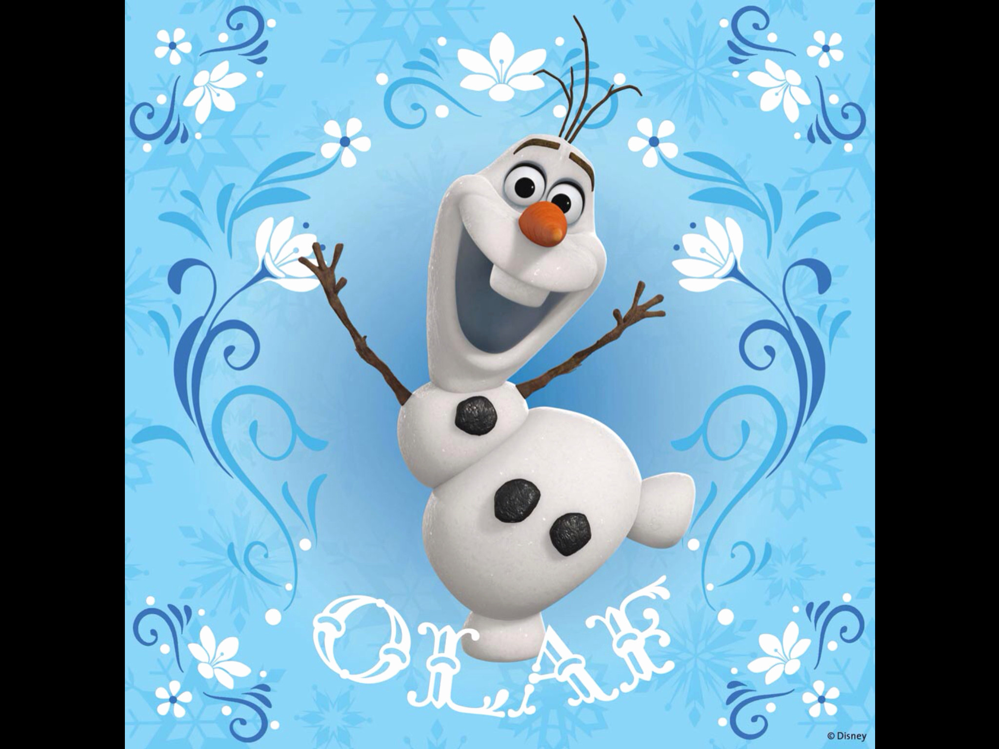 Res: 2048x1536, Olaf Wallpaper Fresh Frozen Olaf Wallpaper iPhone 5