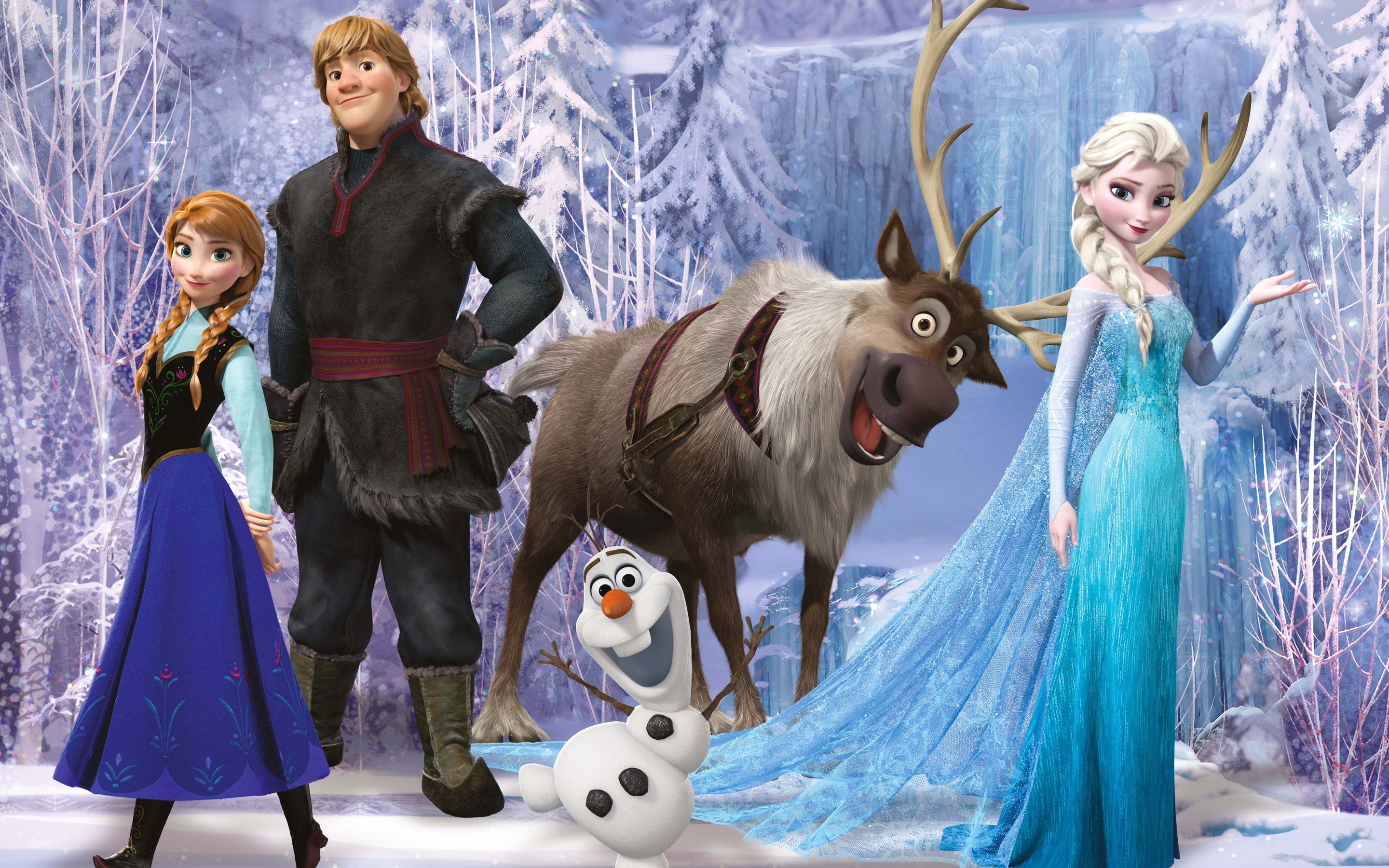 Res: 2880x1800, Frozen Movie 2 (Laptop HD)