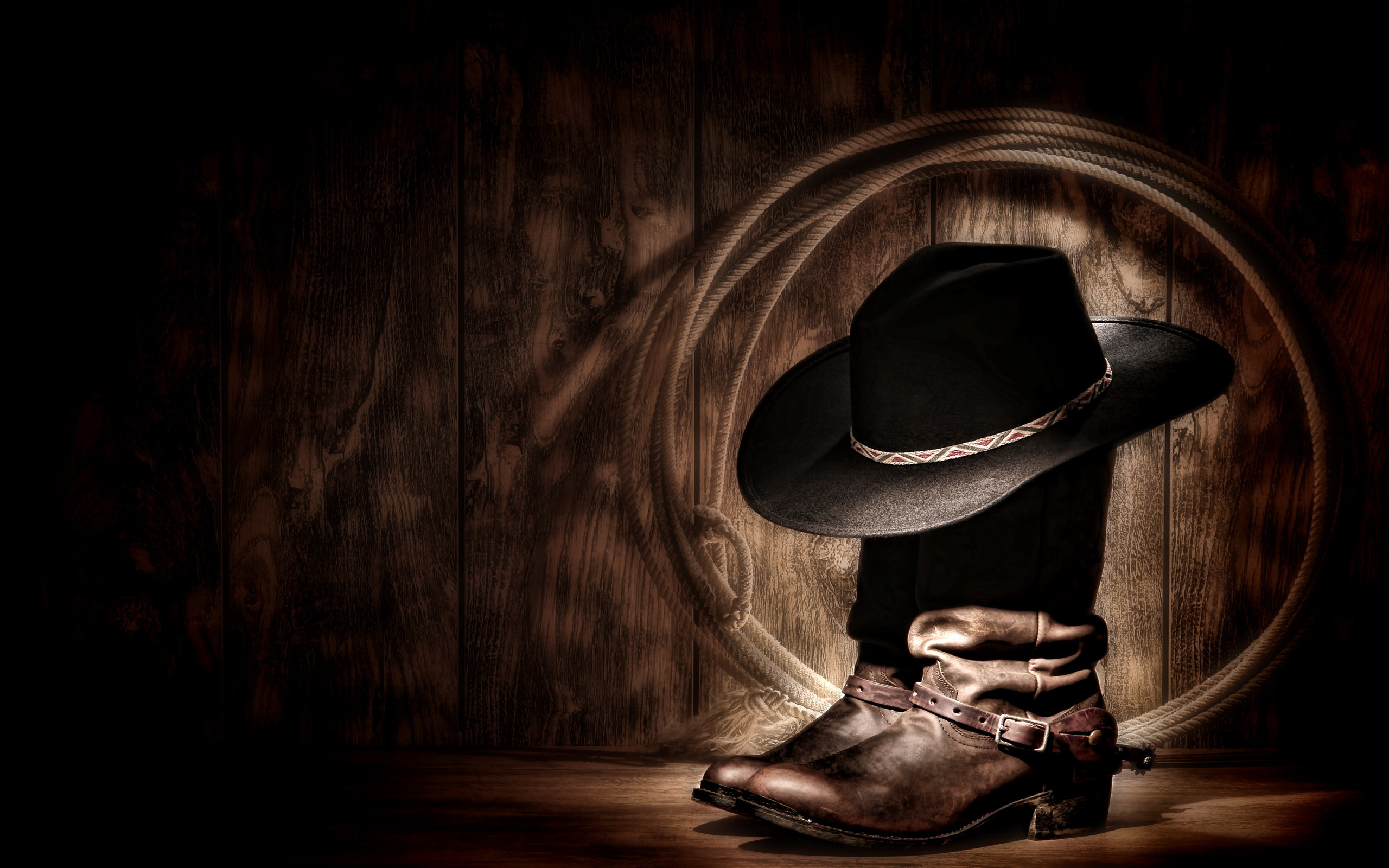 Res: 2560x1600, Photography - Cowboy Wallpaper
