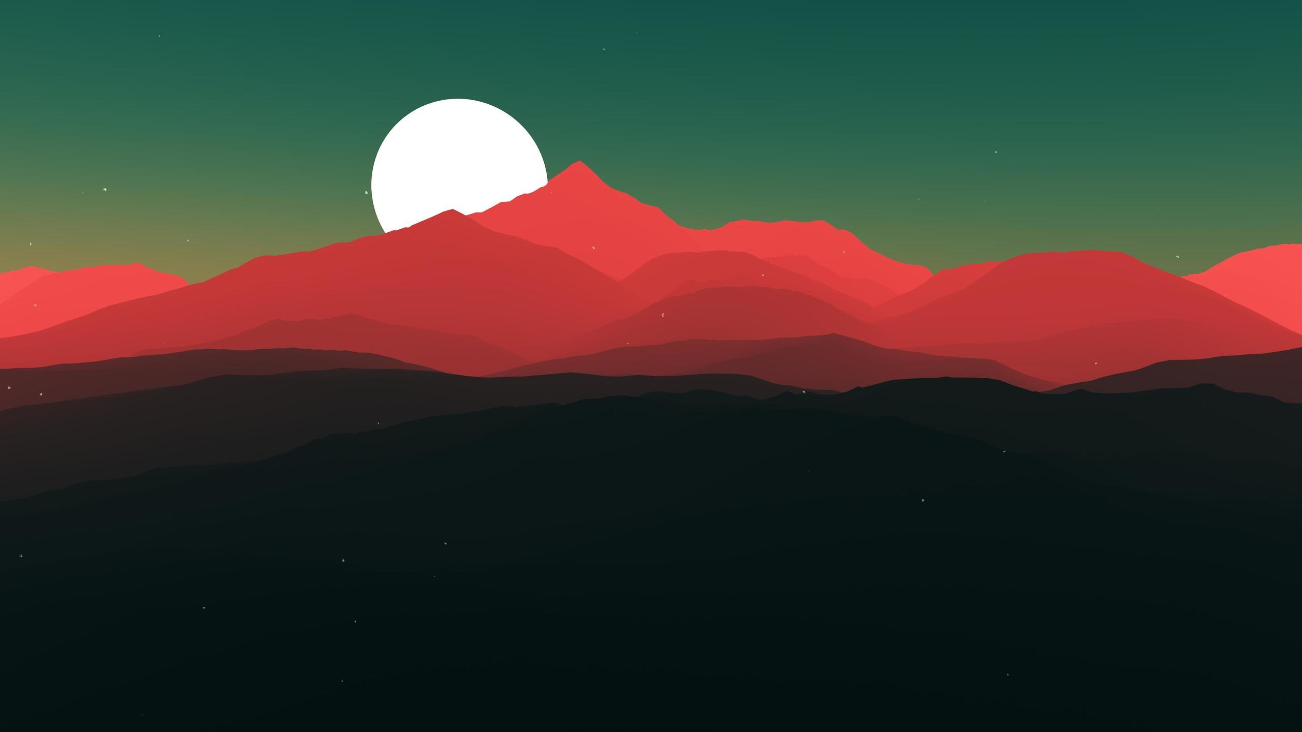 Res: 2560x1440,  Minimalist Landscape 4k 1440P Resolution HD 4k Wallpapers,  Images, Backgrounds, Photos and Pictures