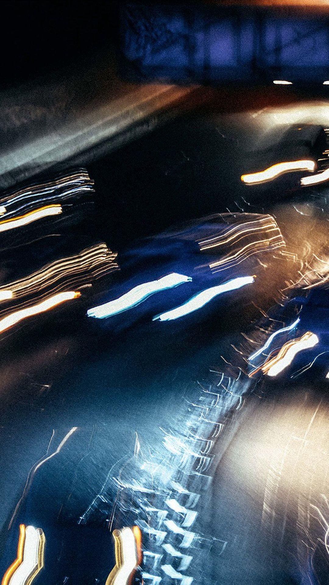 Res: 1080x1920, Light Car Dark Abstract Pattern #iPhone #6 #wallpaper