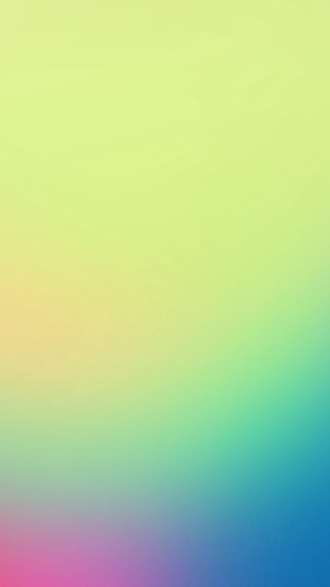 Res: 1080x1920, Morning Light Green Gradation Blur #iPhone #6 #plus #wallpaper