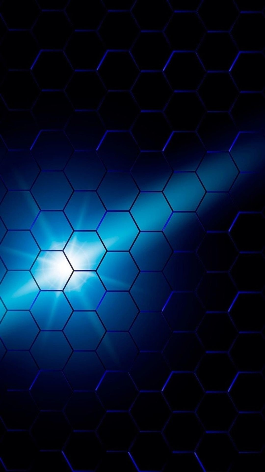 Res: 1080x1920, Blue Comb Background Light Luminescence iPhone 6 wallpaper