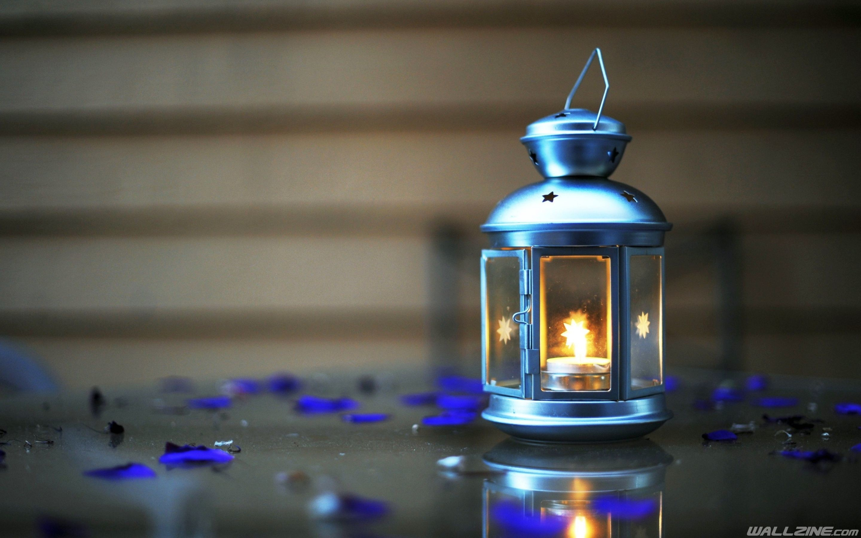 Res: 2880x1800, Lantern Candle Light Wallpaper