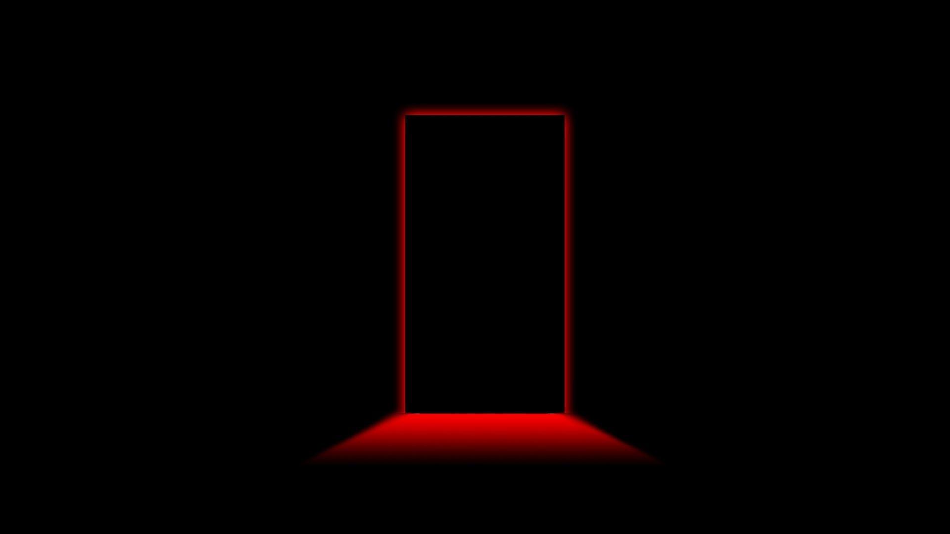 Res: 1920x1080, Door light shadow black red wallpaper mixhd wallpapers | Chainimage