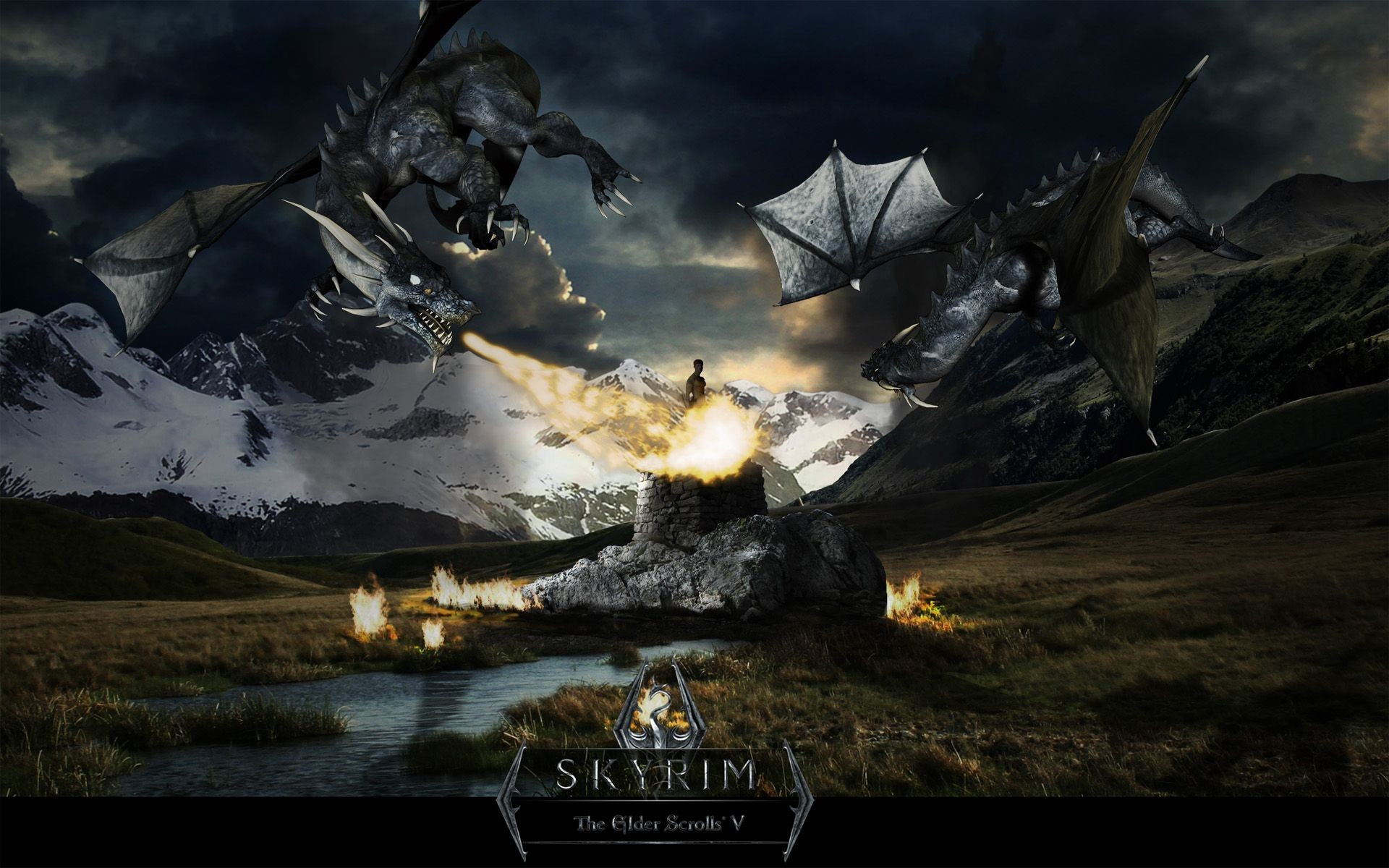 Res: 1920x1200, Pictures of HD Skyrim |