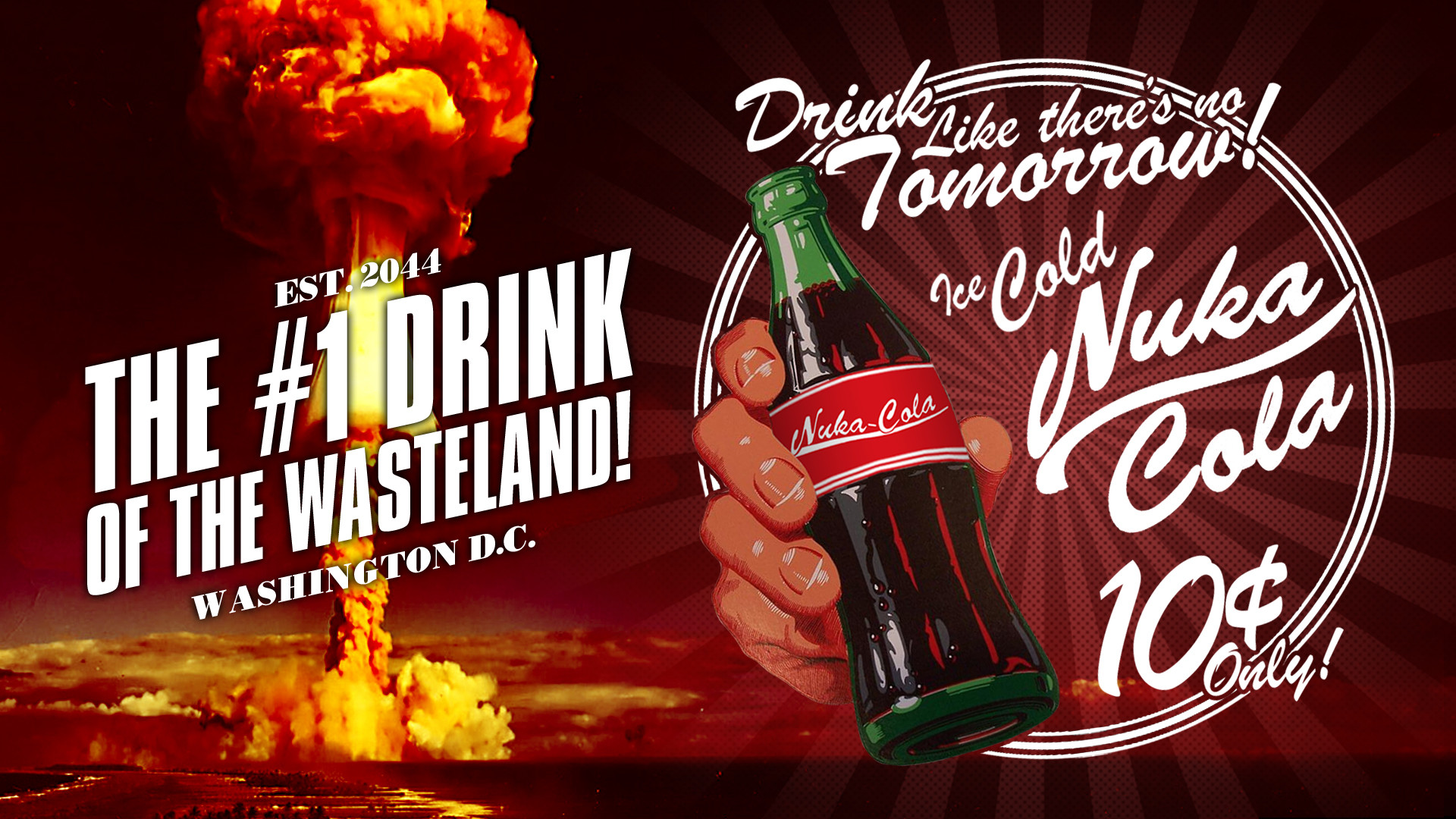 Res: 1920x1080, ... Nuka Cola - The #1 Drink of the Wasteland! by Potansky