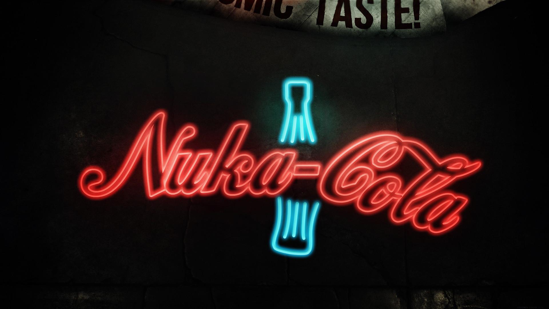 Res: 1920x1080, Nuka-Cola Soda Sign Neon Bottle Fallout HD wallpaper thumb