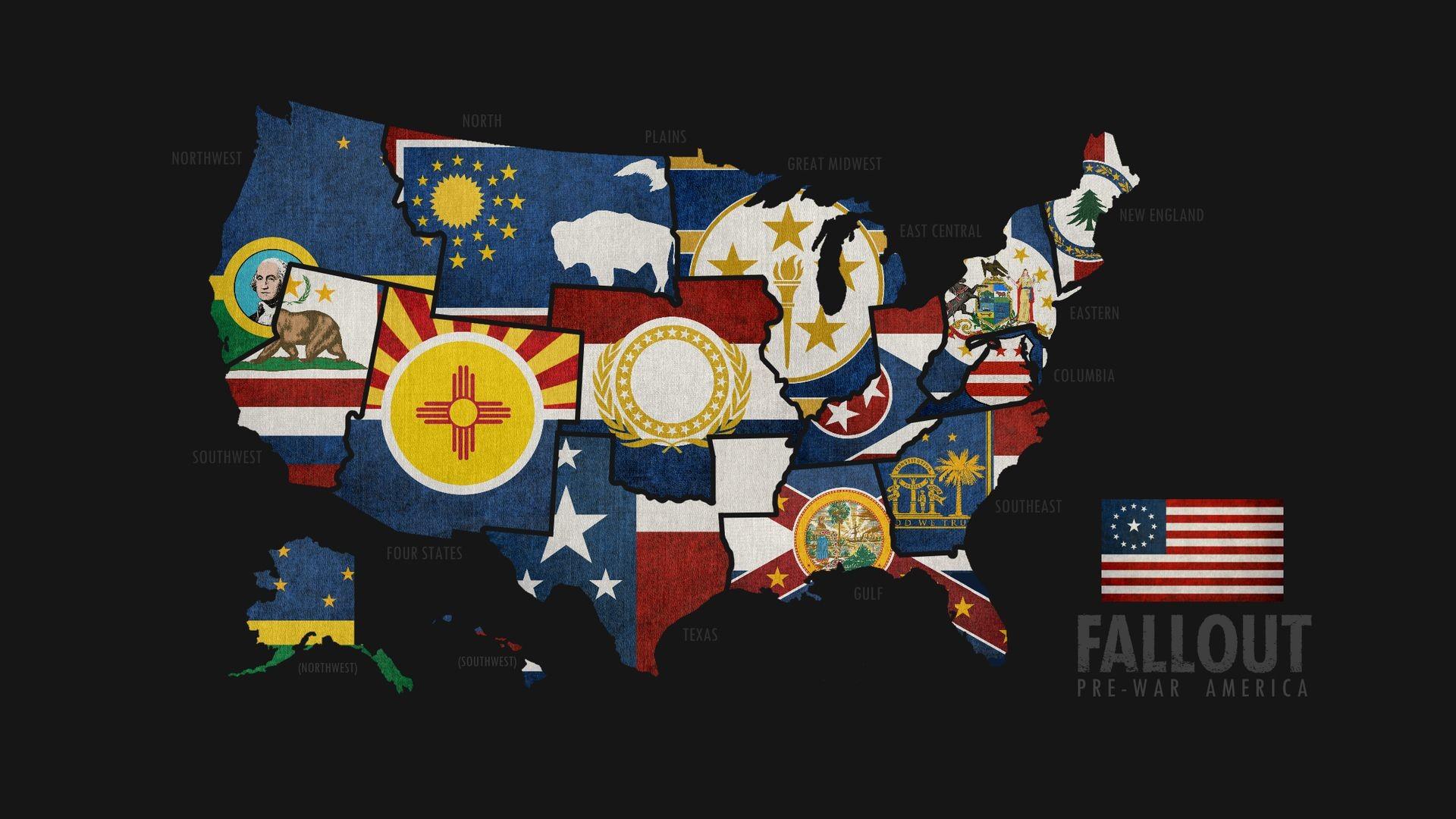 Res: 1920x1080, Fallout Pre War America wallpaper