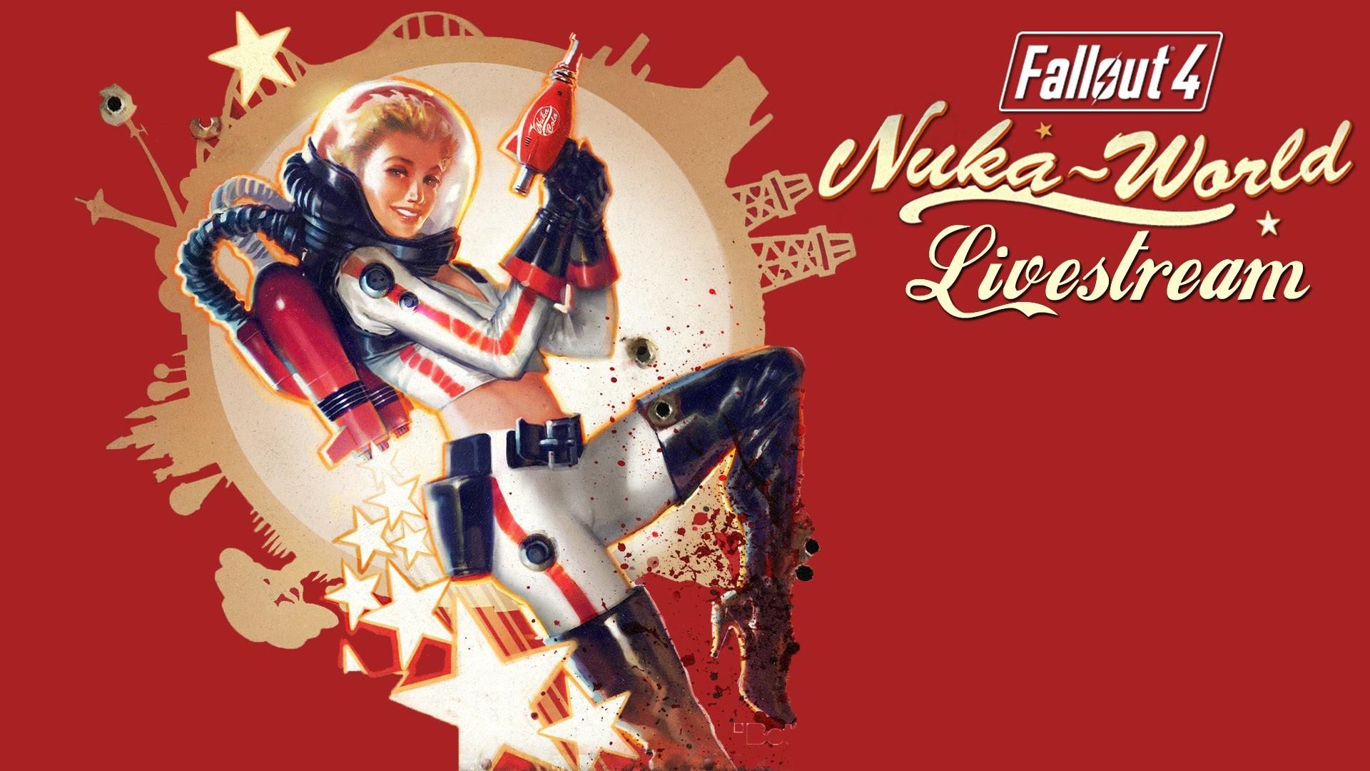 Res: 1920x1080, Fallout 4 Nuka-World Livestream