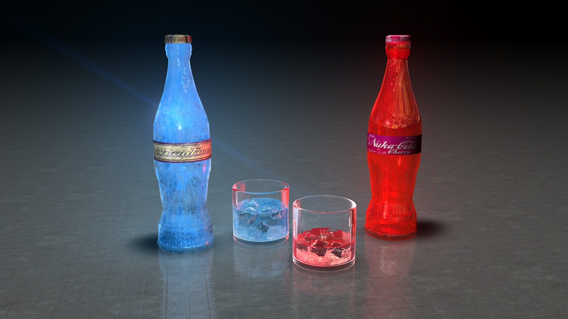 Res: 1920x1080, ... 100SeedlessPenguins Nuka Cola - Quantum and Cherry by  100SeedlessPenguins