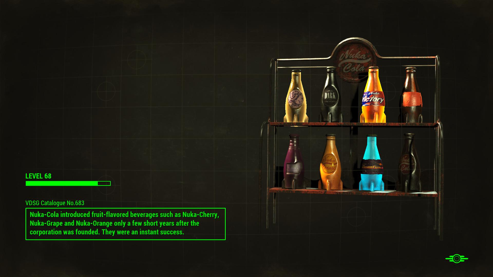Res: 1920x1080, Nuka Cola Variants Shelf Loading Screen.png