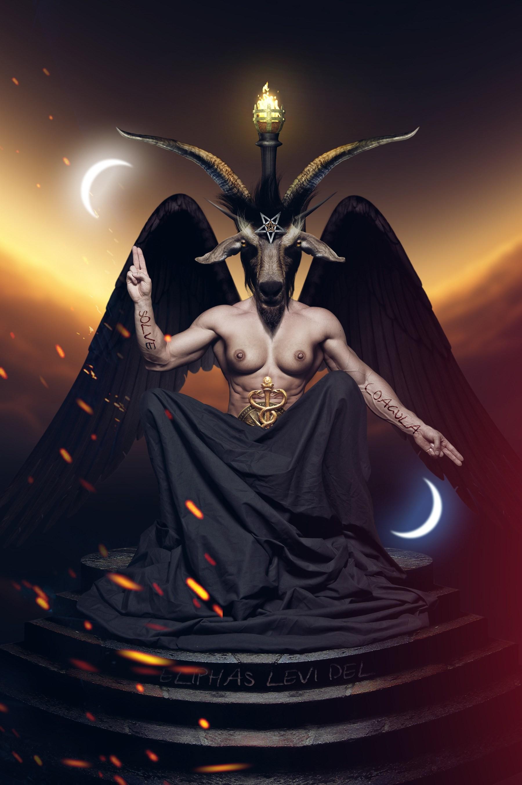 Res: 1800x2705, Good Wallpaper Cat Satanic - satanic-pentagram-wallpaper --1080p-WTG3095347