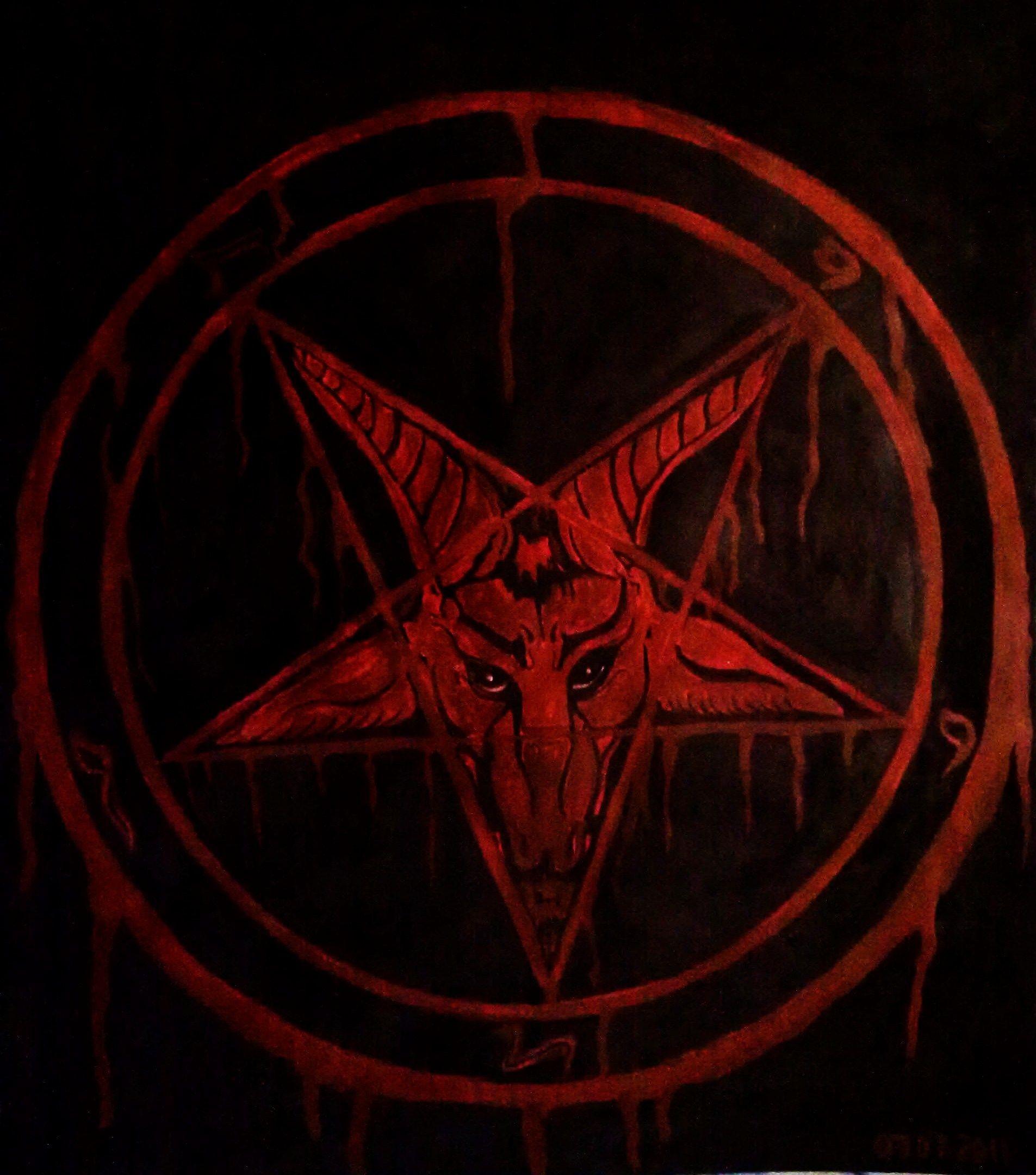 Res: 1905x2161, baphomet pentagram