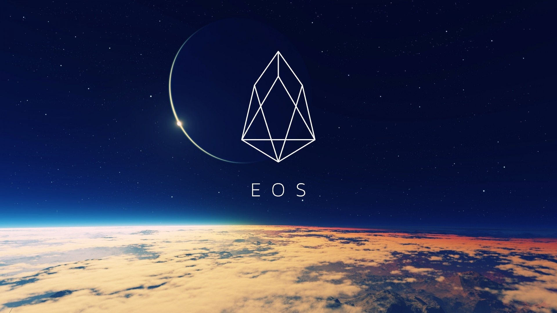 Res: 1920x1080, The EOS logo - the Chestahedron - a Luciferic star / broken pentagram in  slight disguise