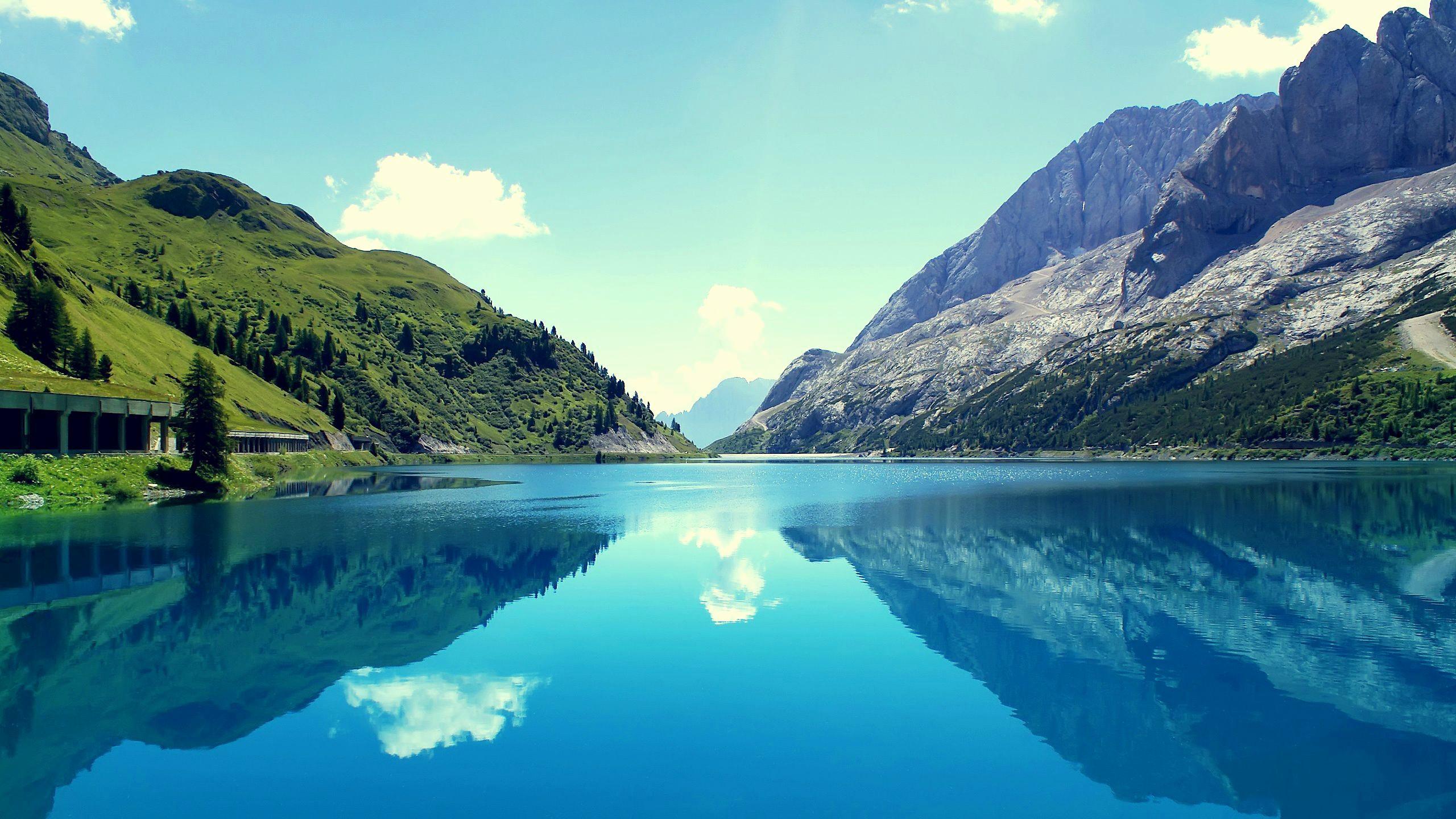 Res: 2560x1440,  Wallpaper Lovely Marmolada Mountains Italy [] Imgur