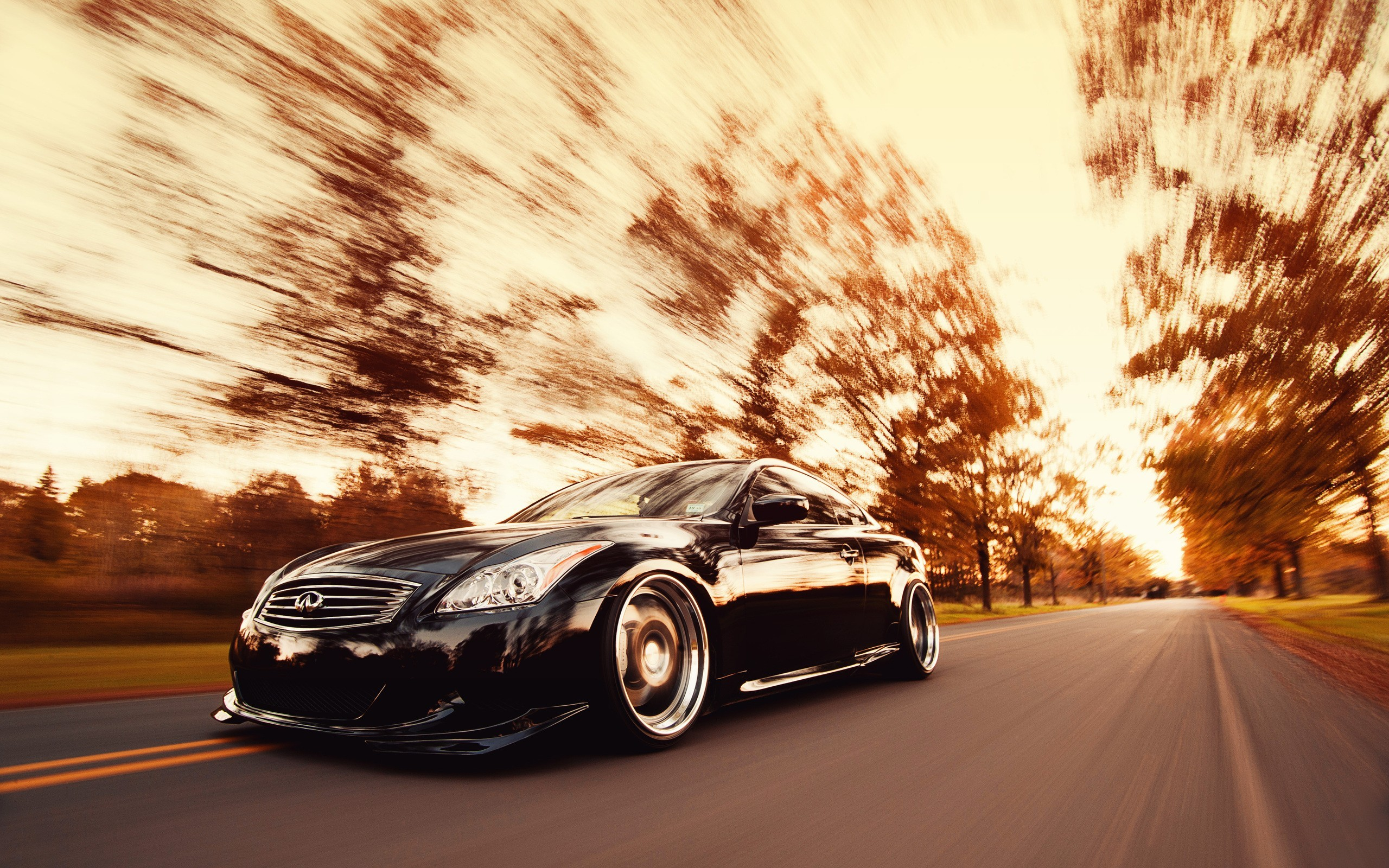 Res: 2560x1600, G37 Stance Wallpaper