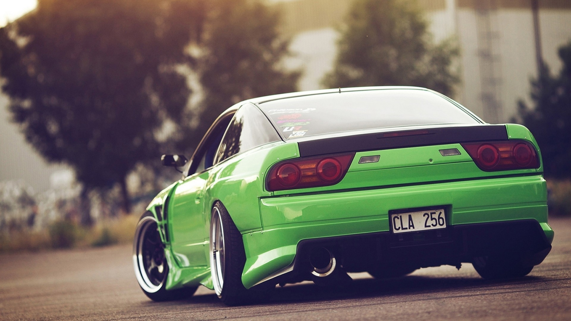 Res: 1920x1080, Nissan, 240sx, Green, JDM, Car, Stance Wallpapers HD / Desktop and Mobile  Backgrounds