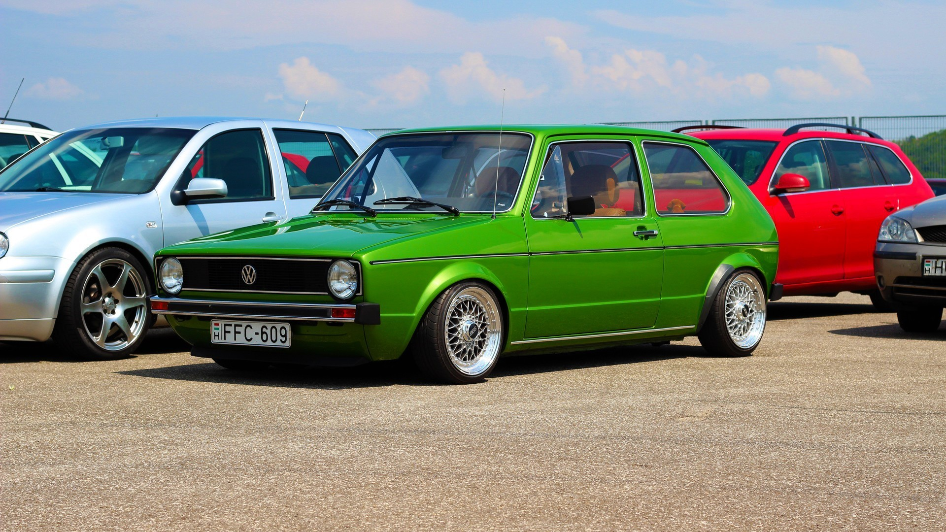 Res: 1920x1080, Volkswagen, Stance, Golf 1 Wallpapers HD / Desktop and Mobile Backgrounds