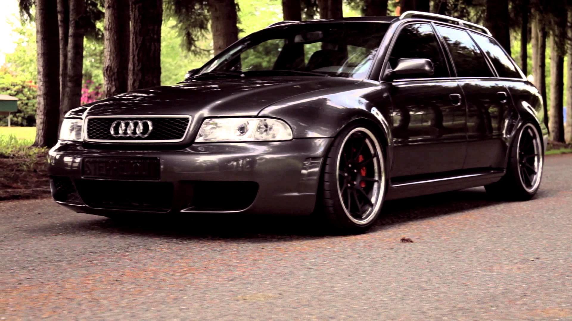 Res: 1920x1080, Audi S4 B5 Stance