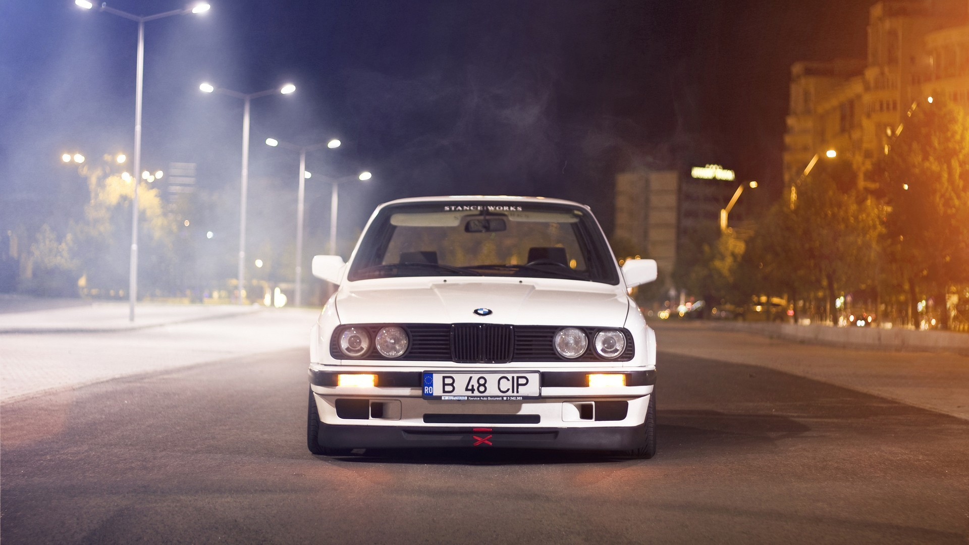 Res: 1920x1080, ... BMW E30 Stance #5