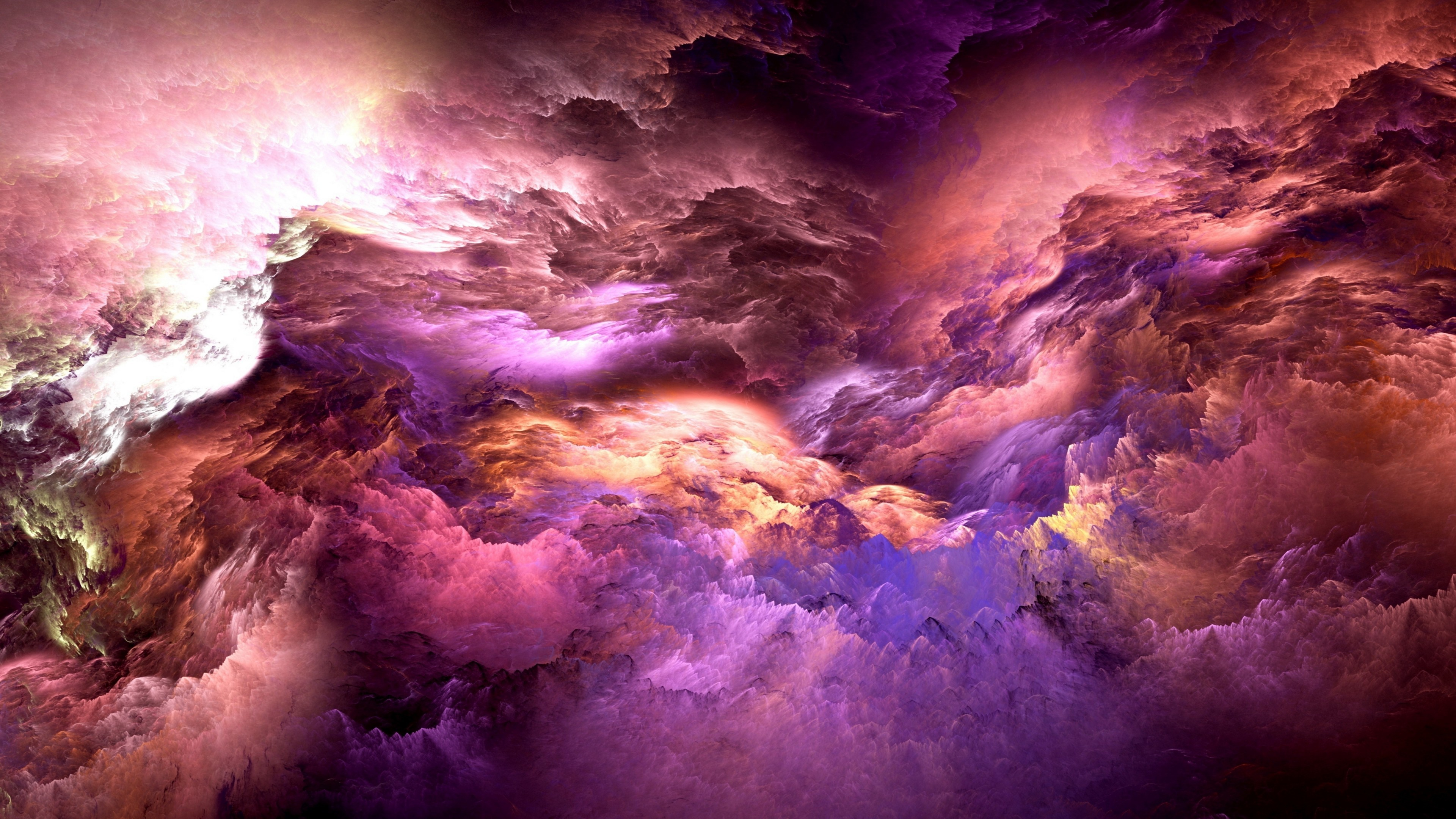 Res: 3840x2160, Abstract / Clouds Wallpaper