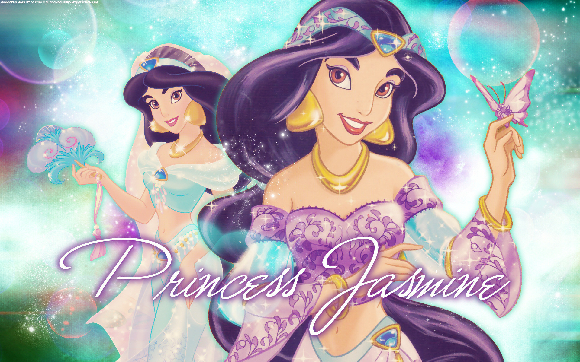Res: 1920x1200, Princess Jasmine Cartoon Classic Disney