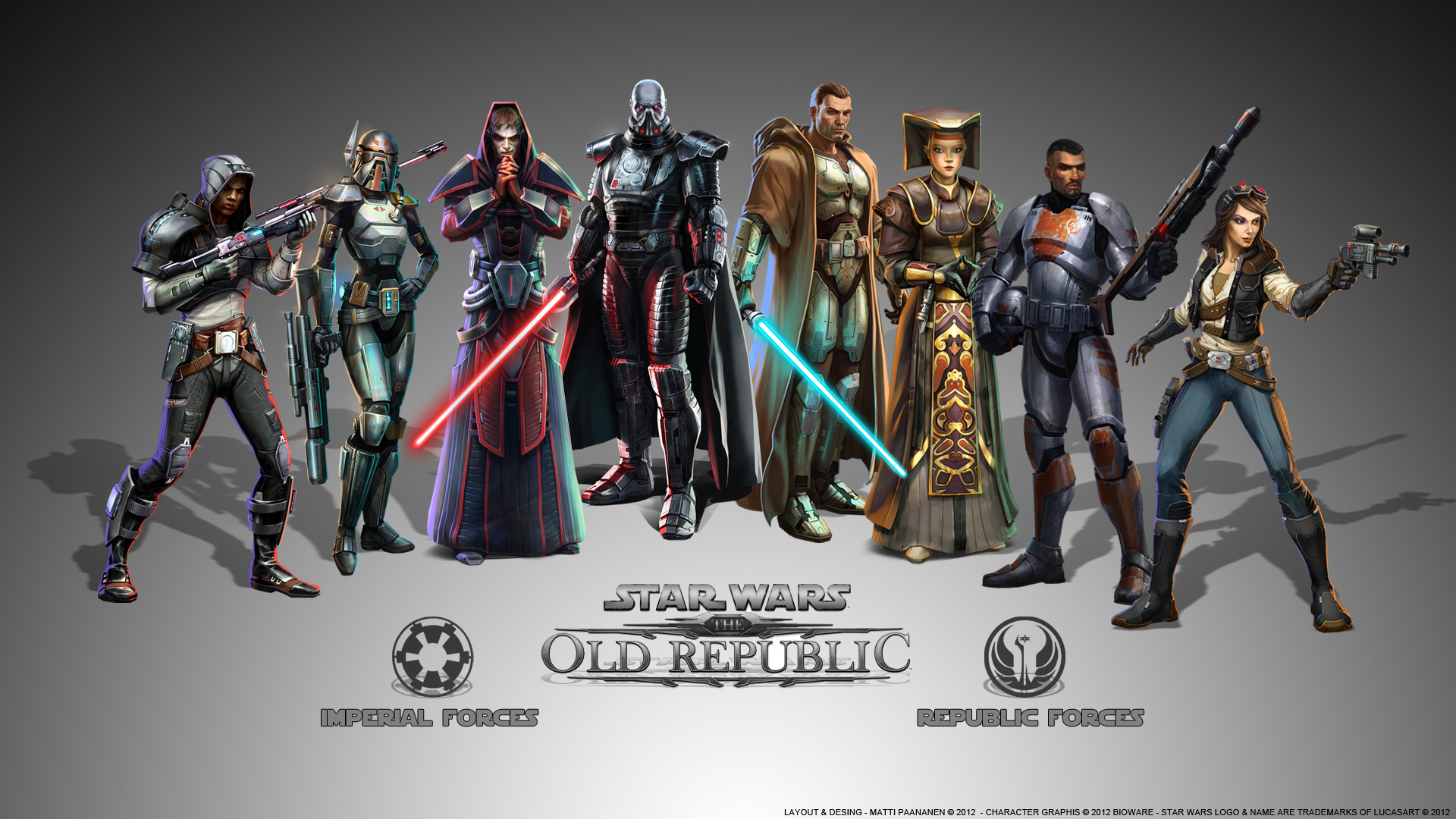 Res: 1920x1080, StarWars: the old republic images Classes of SWTOR HD wallpaper and  background photos
