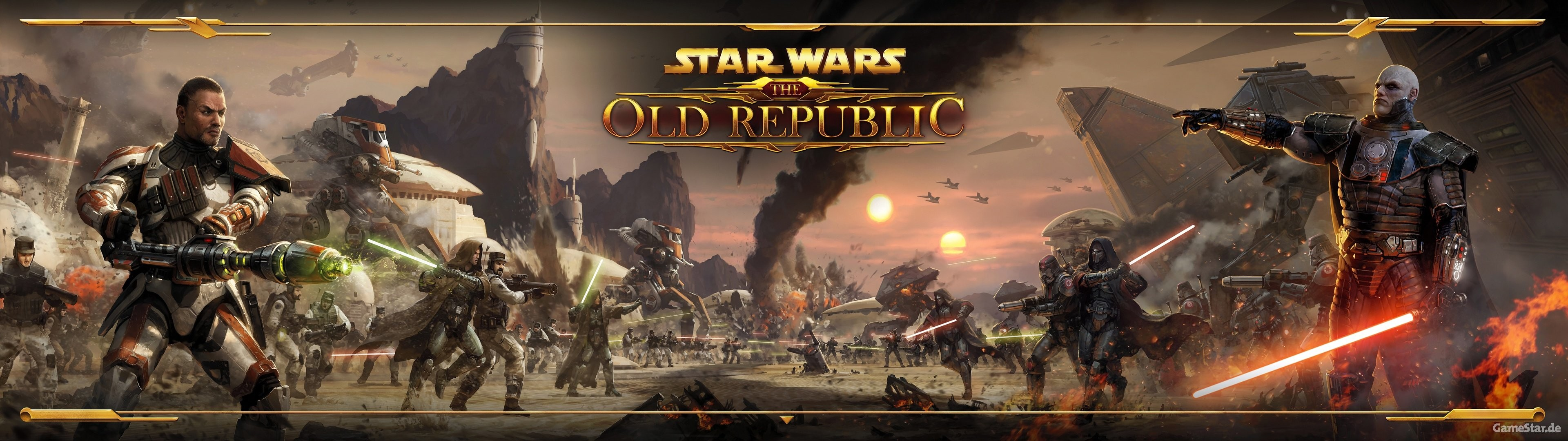 Res: 3840x1080, STAR WARS OLD REPUBLIC mmo rpg swtor fighting sci-fi wallpaper |   | 518892 | WallpaperUP