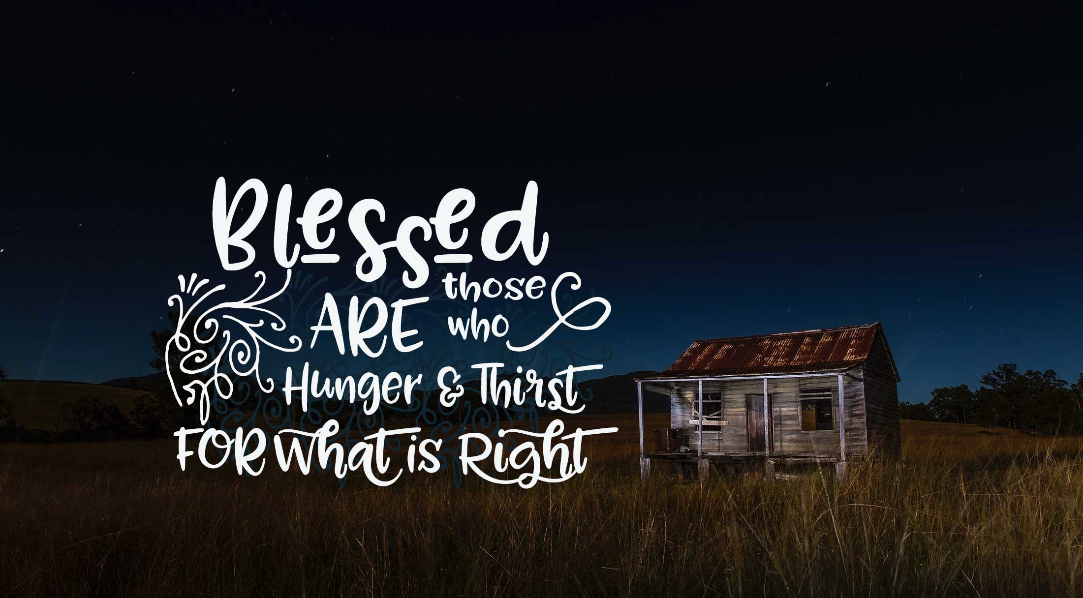 Res: 2201x1216, Beatitude Wallpaper: Blessed are those who hunger for what is right