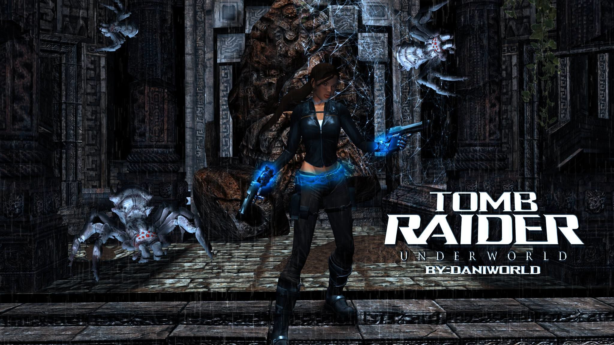 Res: 2048x1152, ... Tomb Raider Underworld Wallpaper - Southern Mexico by daniworld