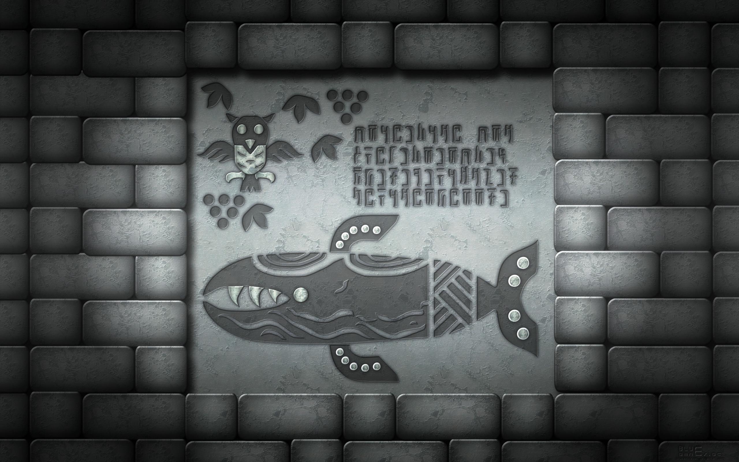 Res: 2560x1600, ... Southern Face Shrine Mural Wallpaper V2 by BLUEamnesiac