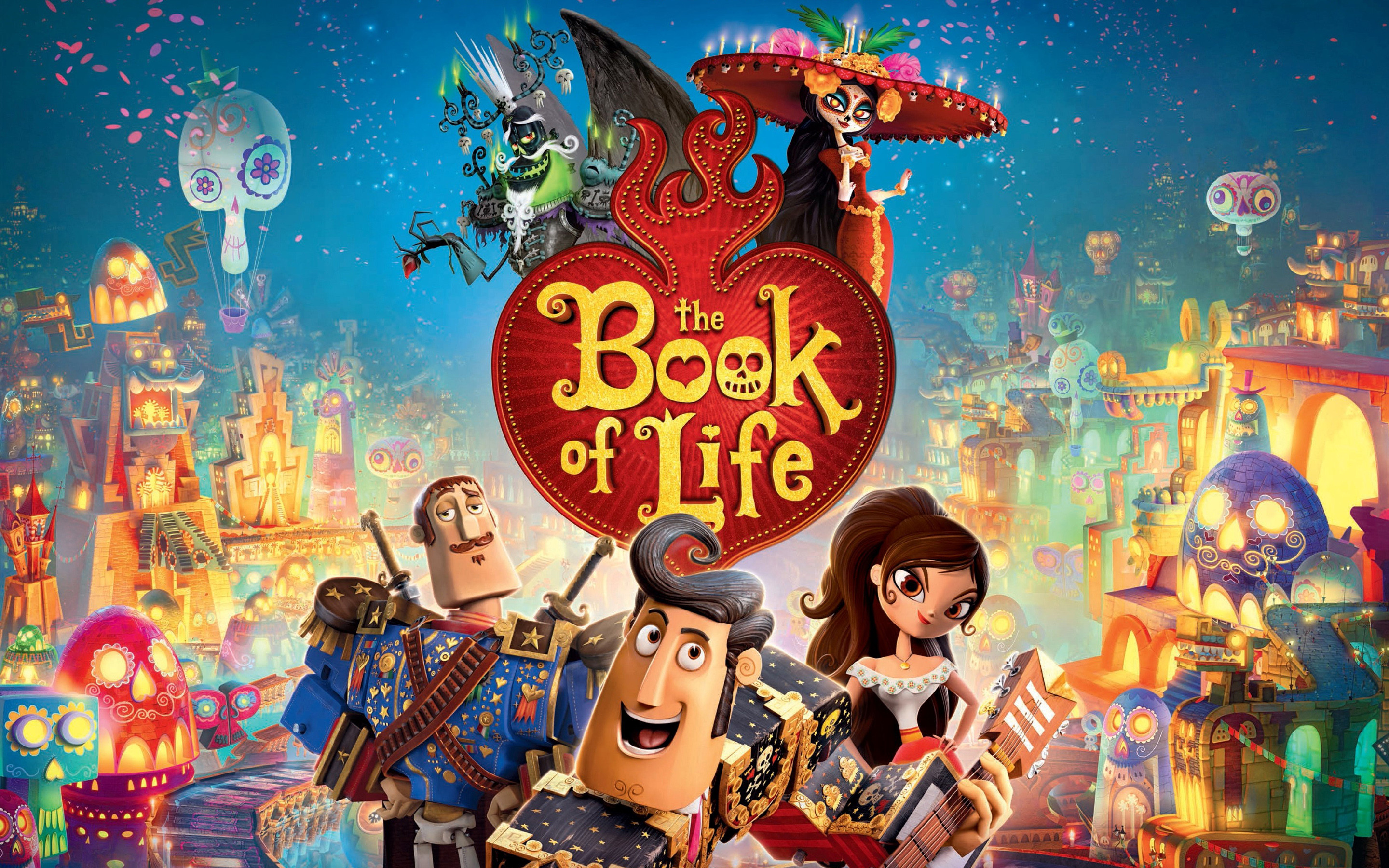 Res: 2880x1800, The Book of Life Wallpapers