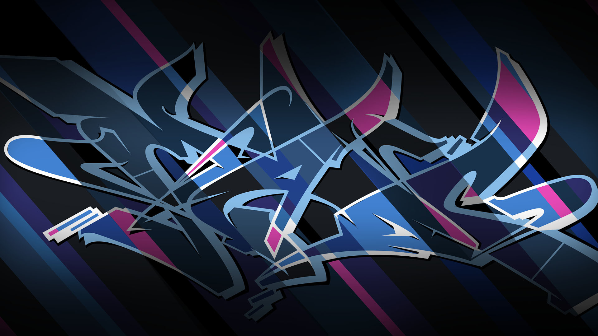 Res: 1920x1080, ... Graffiti Bomber Wallpaper Wallpapers Kid Ink Bombing Science Graffiti  Blog Madc Design ...