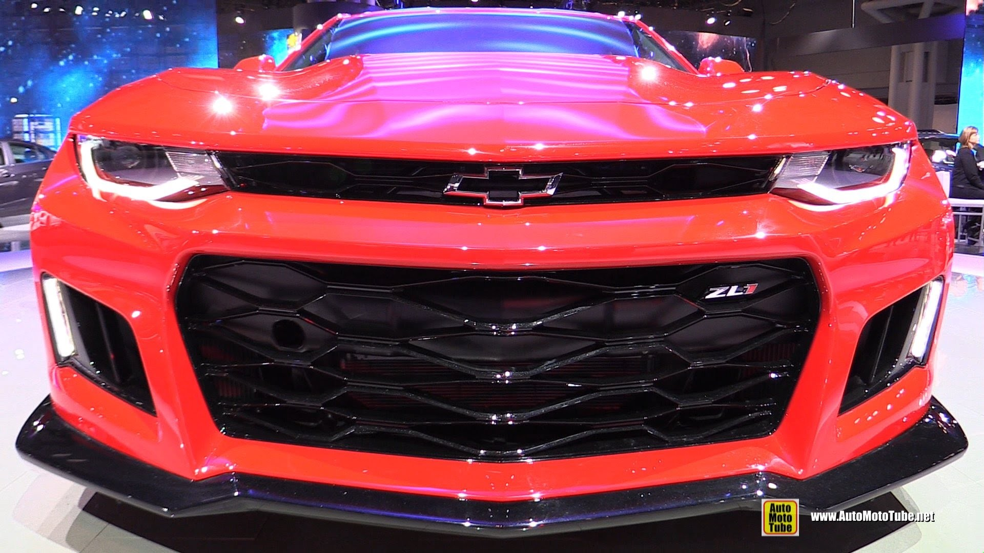 Res: 1920x1080, 2017 Chevrolet Camaro ZL1 - Exterior and Interior Walkaround - Debut at  2016 New York Auto Show - YouTube