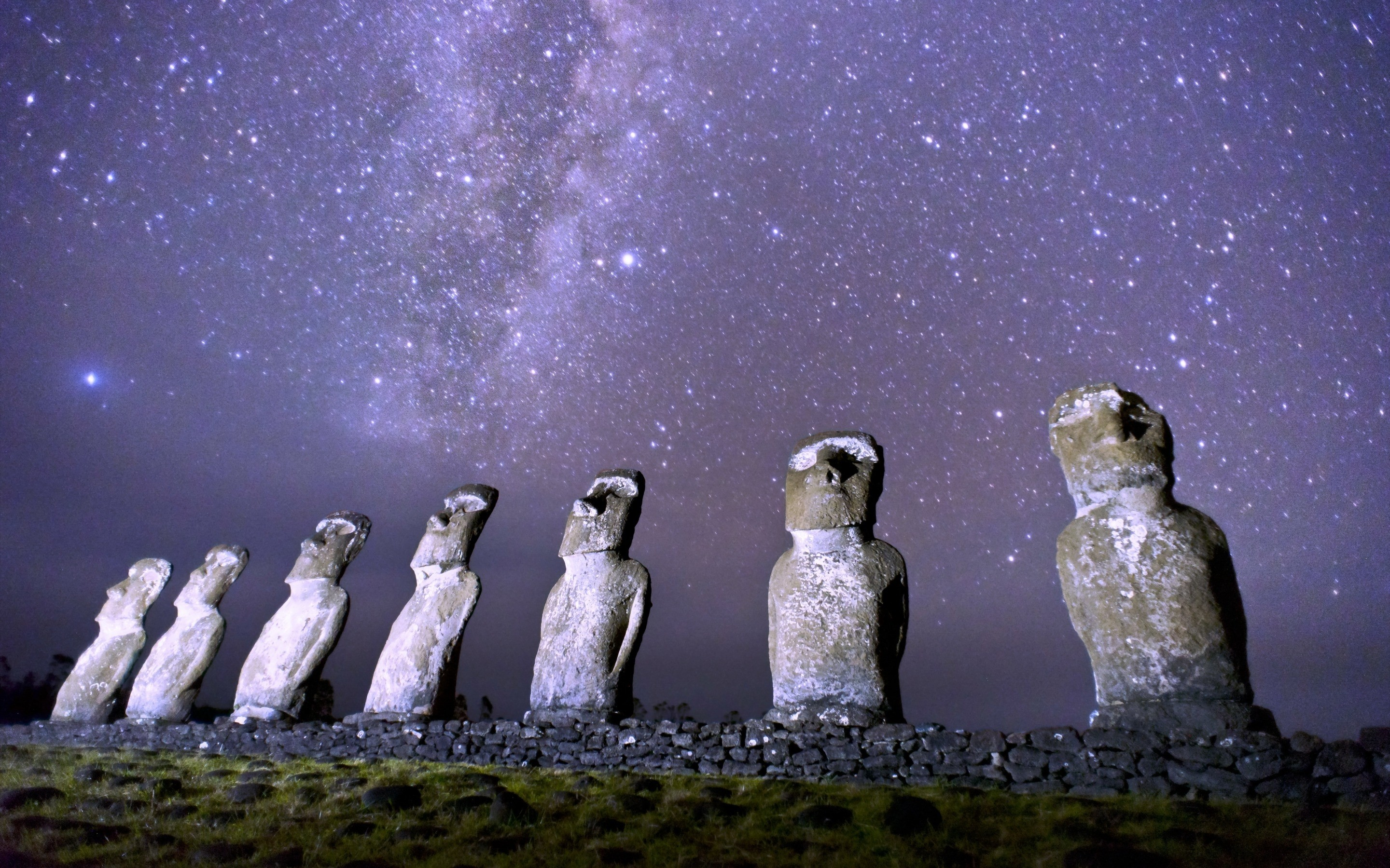 Res: 2880x1800, Moai Wallpapers 3 - 2880 X 1800