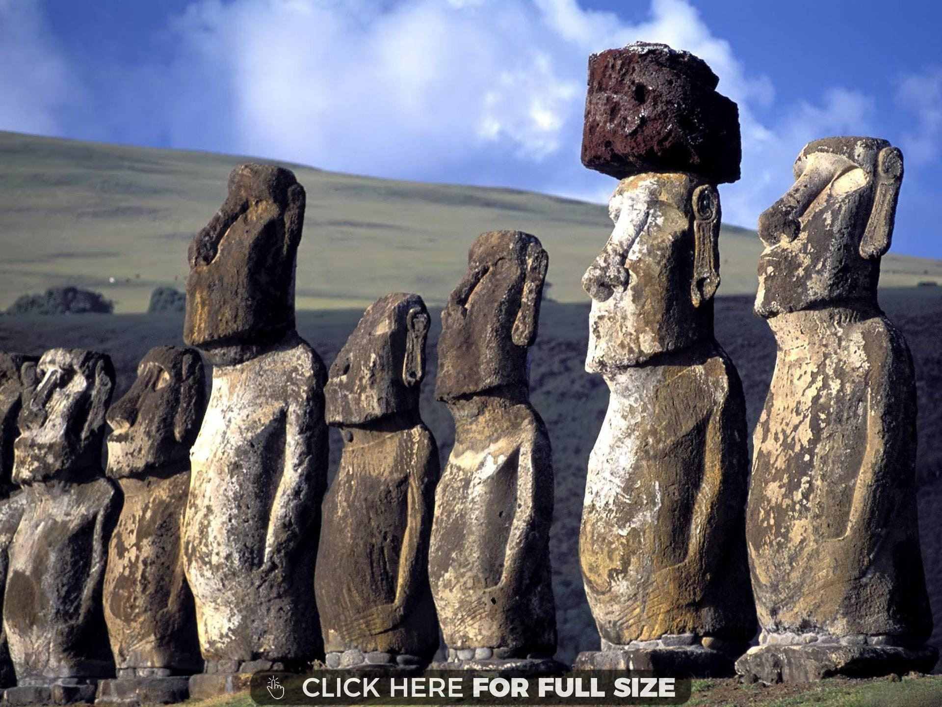 Res: 1920x1440, Find out: Moai at The Quarry Easter Island Chile wallpaper on  http://hdpicorner.com/moai-at-the-quarry-easter-island-chile/ | Desktop  Wallpapers | Pinterest ...