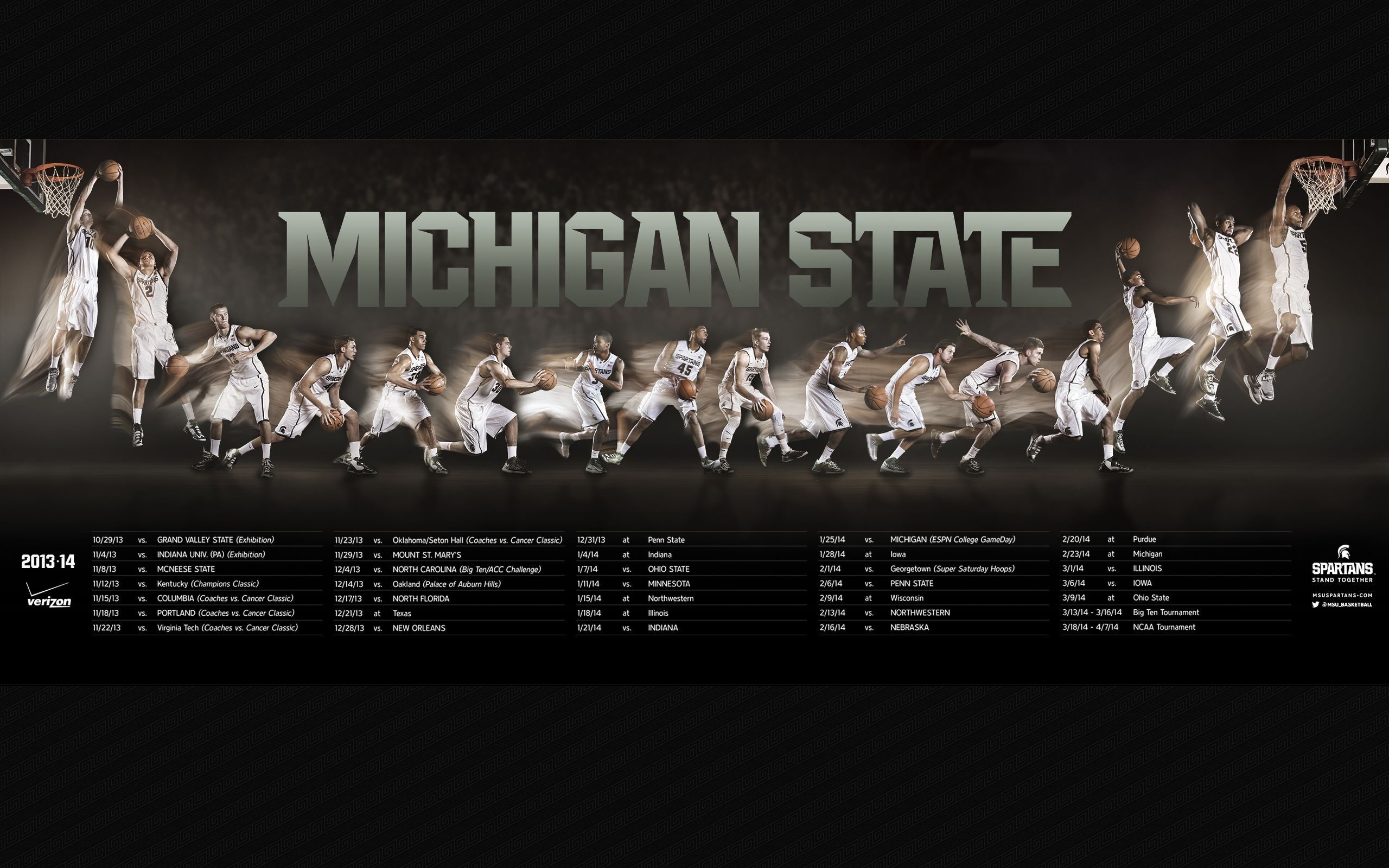 Res: 2560x1600, Msu Football Schedule 2016 Wallpapers - Wallpaper Cave