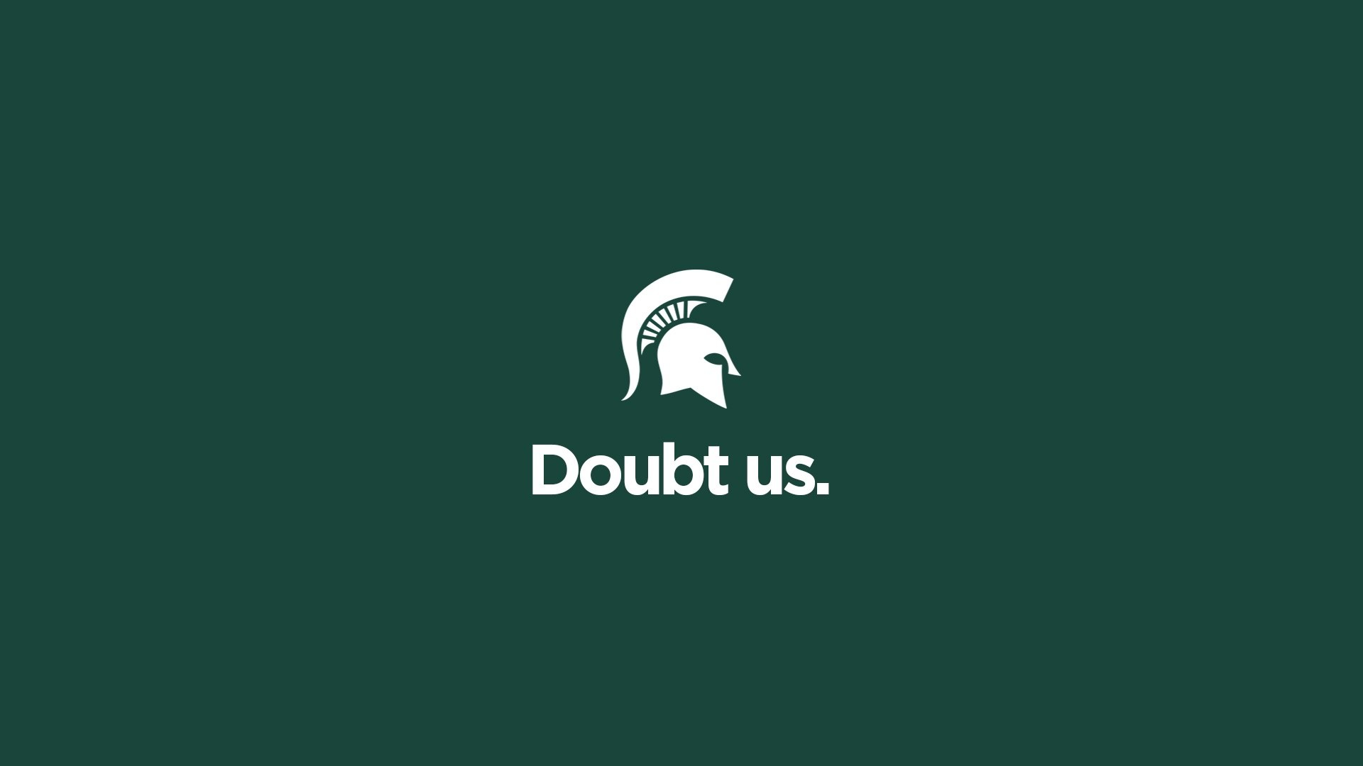 Res: 1920x1080, Doubt Us | Michigan State Football Hype Video 2016