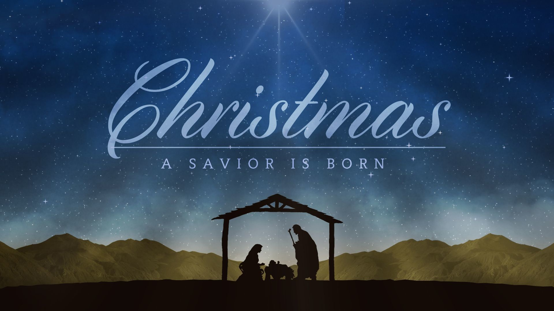 Res: 1920x1080, Christmas Nativity Scene With Quote HD Images Free