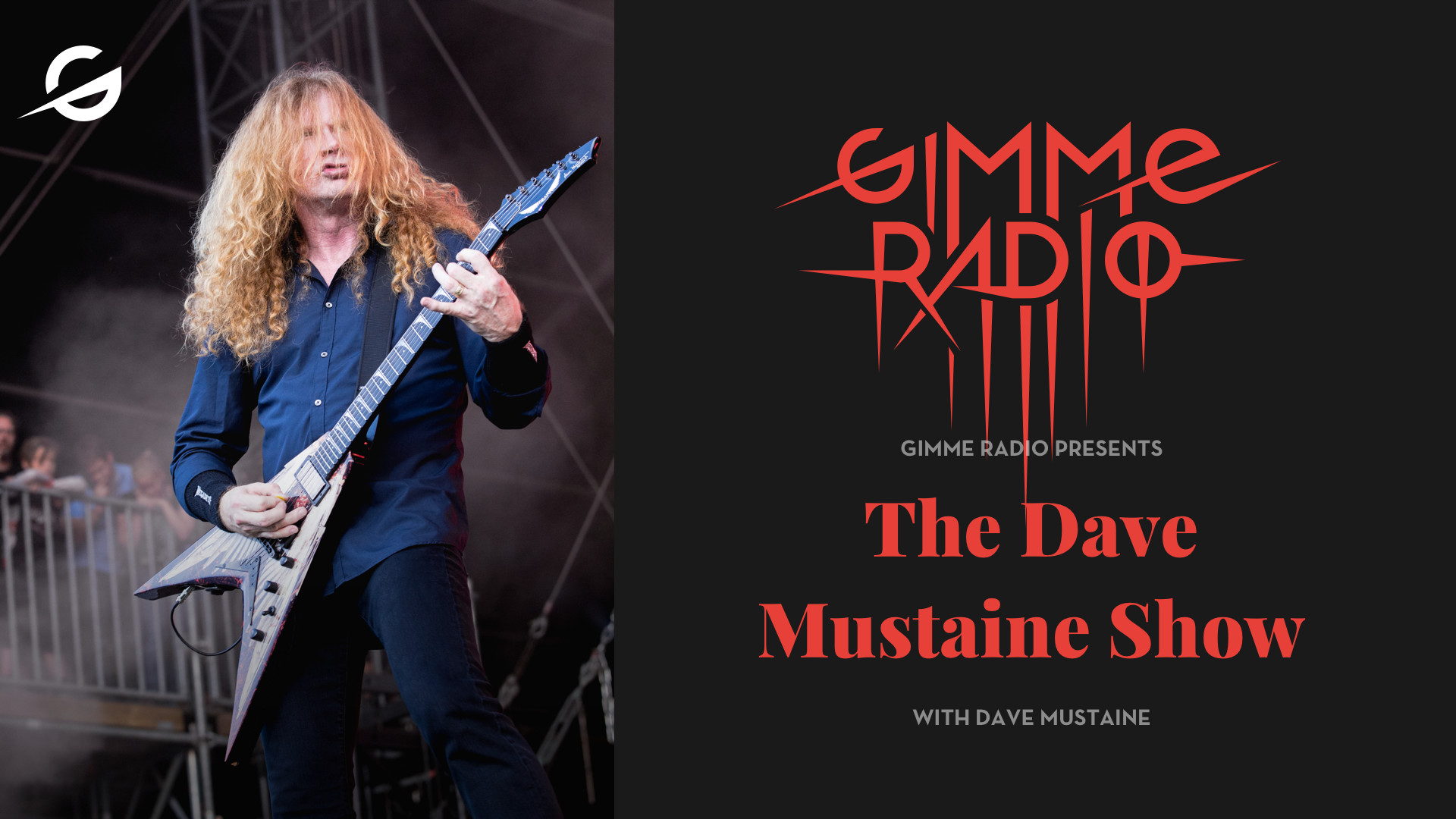 Res: 1920x1080, Megadeth's Dave Mustaine Is Launching A Radio Show On Gimme Radio, A New  Music Service Focused…