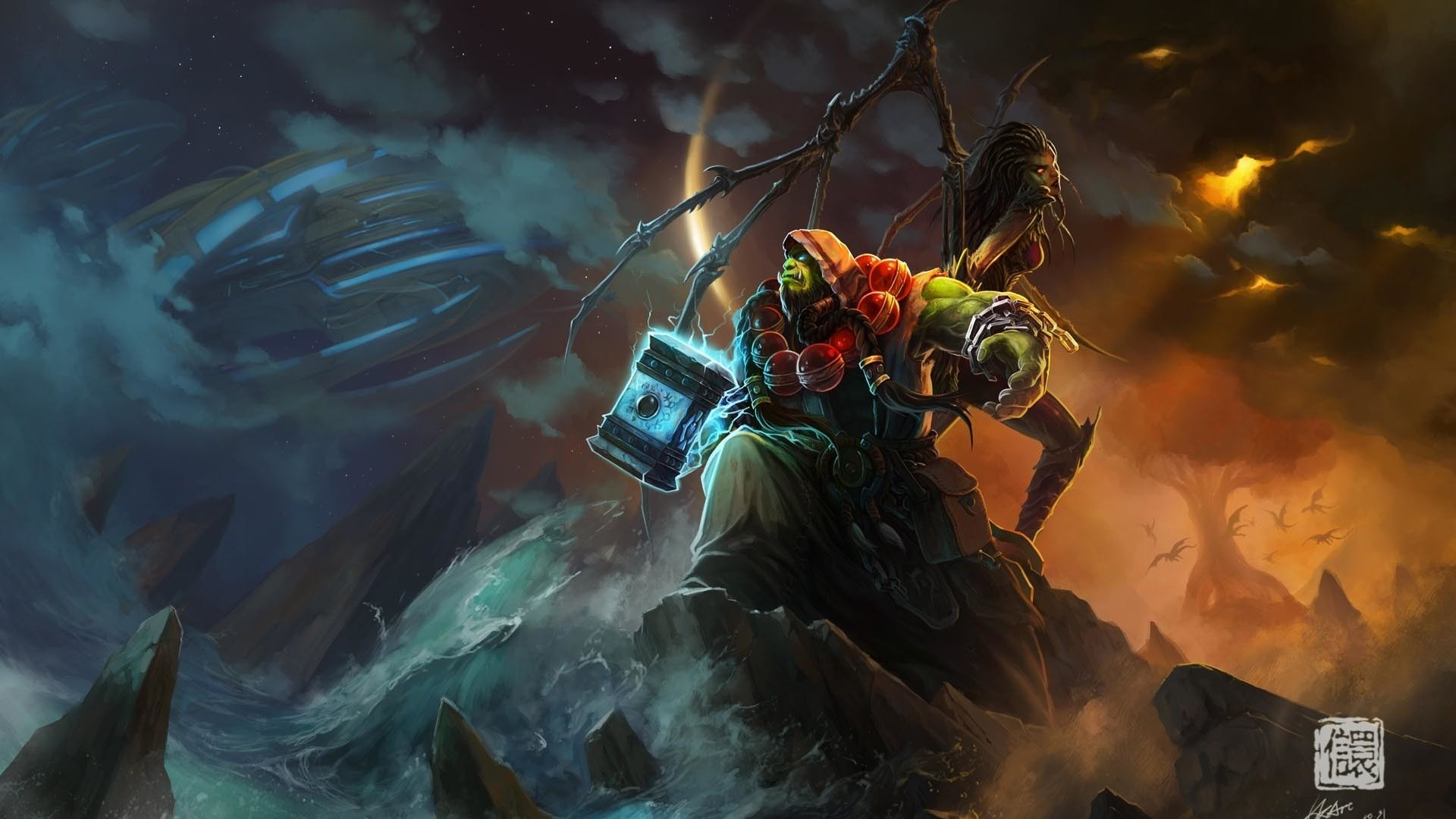 Res: 1920x1080, ... World Of Warcraft High Resolution Wallpapers |  px Backgrounds  ...