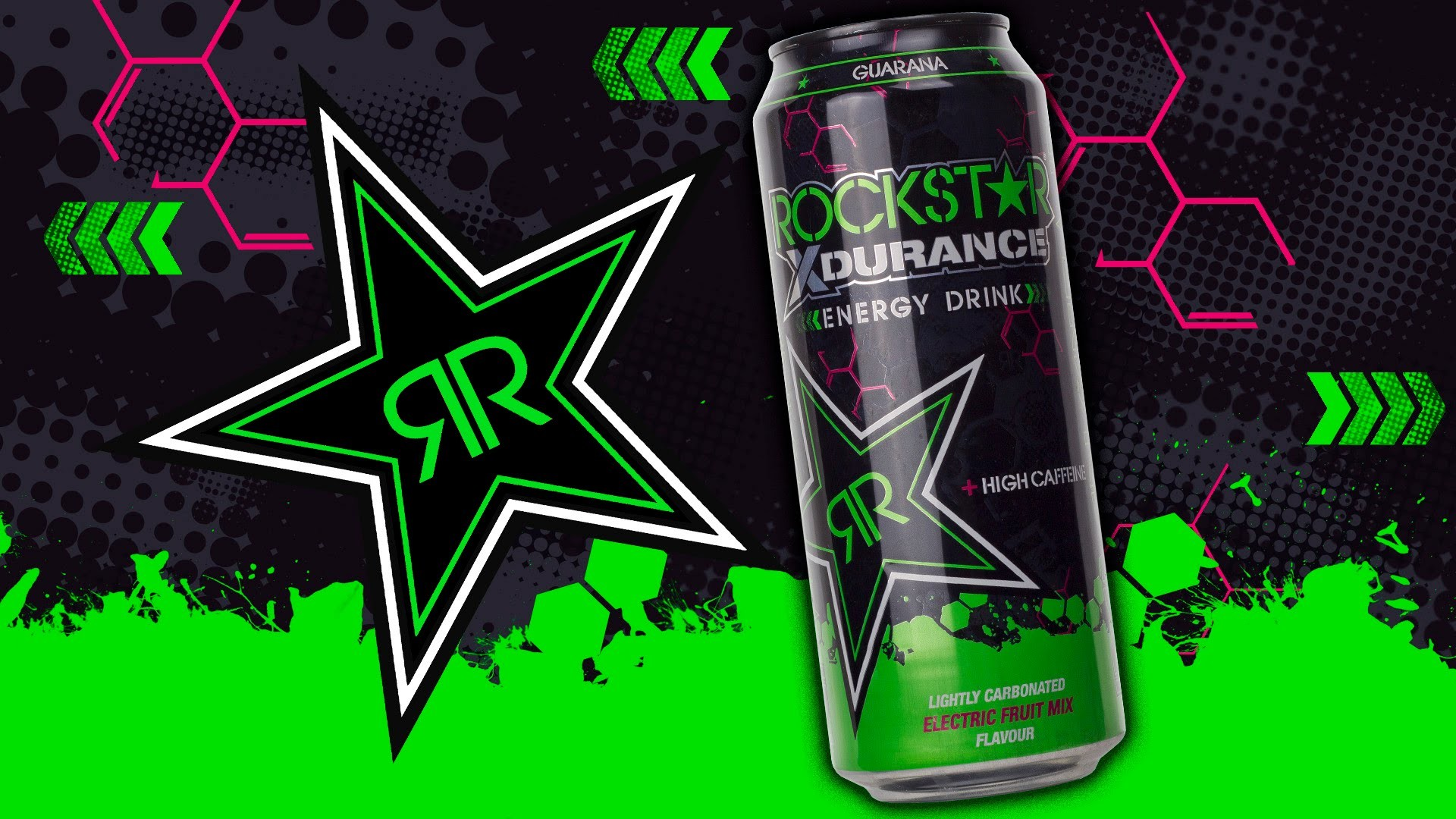 Res: 1920x1080, Wir Probieren #199 Rockstar XDurance Electric Fruit Mix