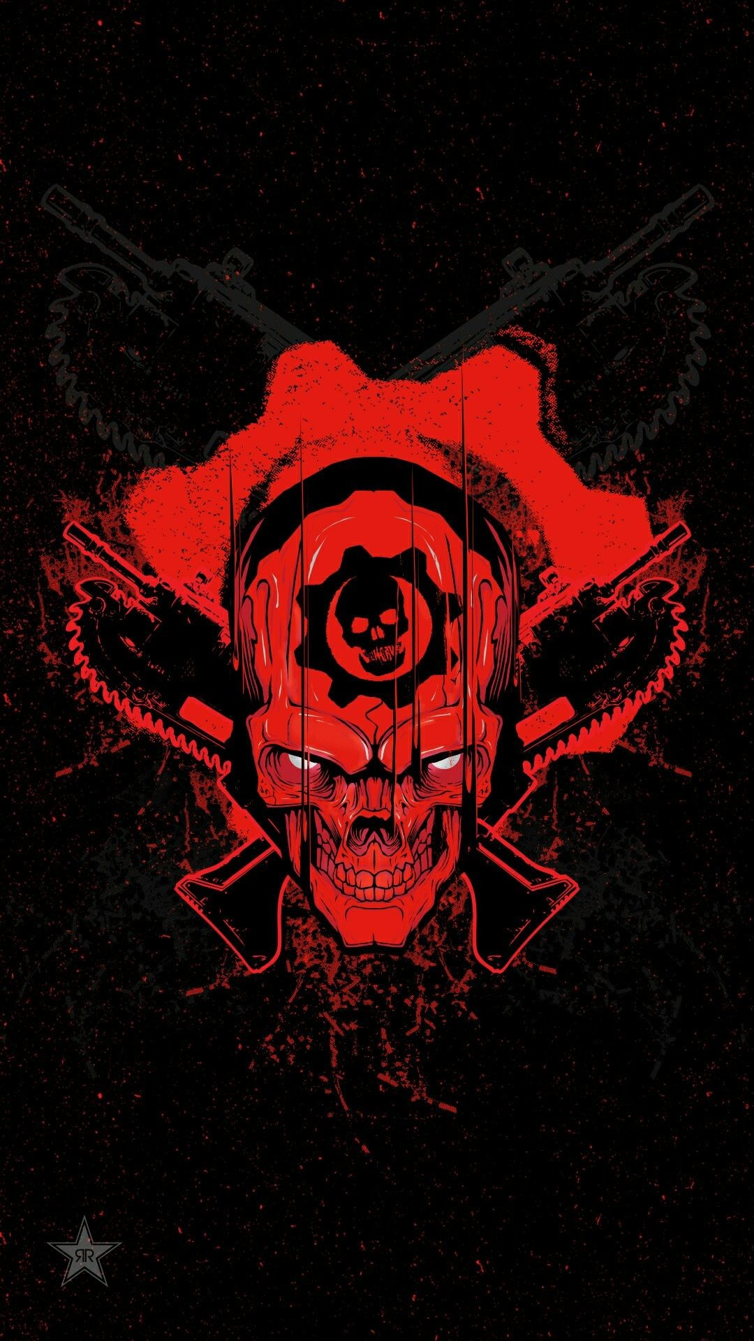 Res: 1080x1920, Hydro74 Gears of War Rockstar Energy Drink