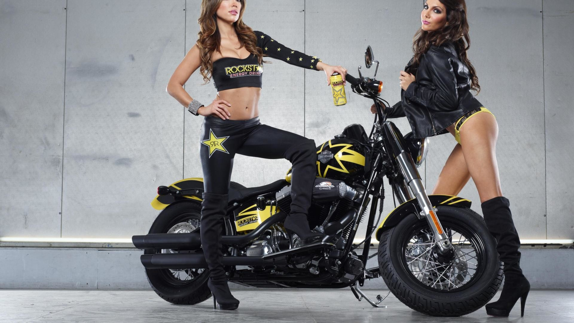 Res: 1920x1080, 228329918 Rockstar Energy Girls Wallpapers - Rockstar Energy Girls  Backgrounds