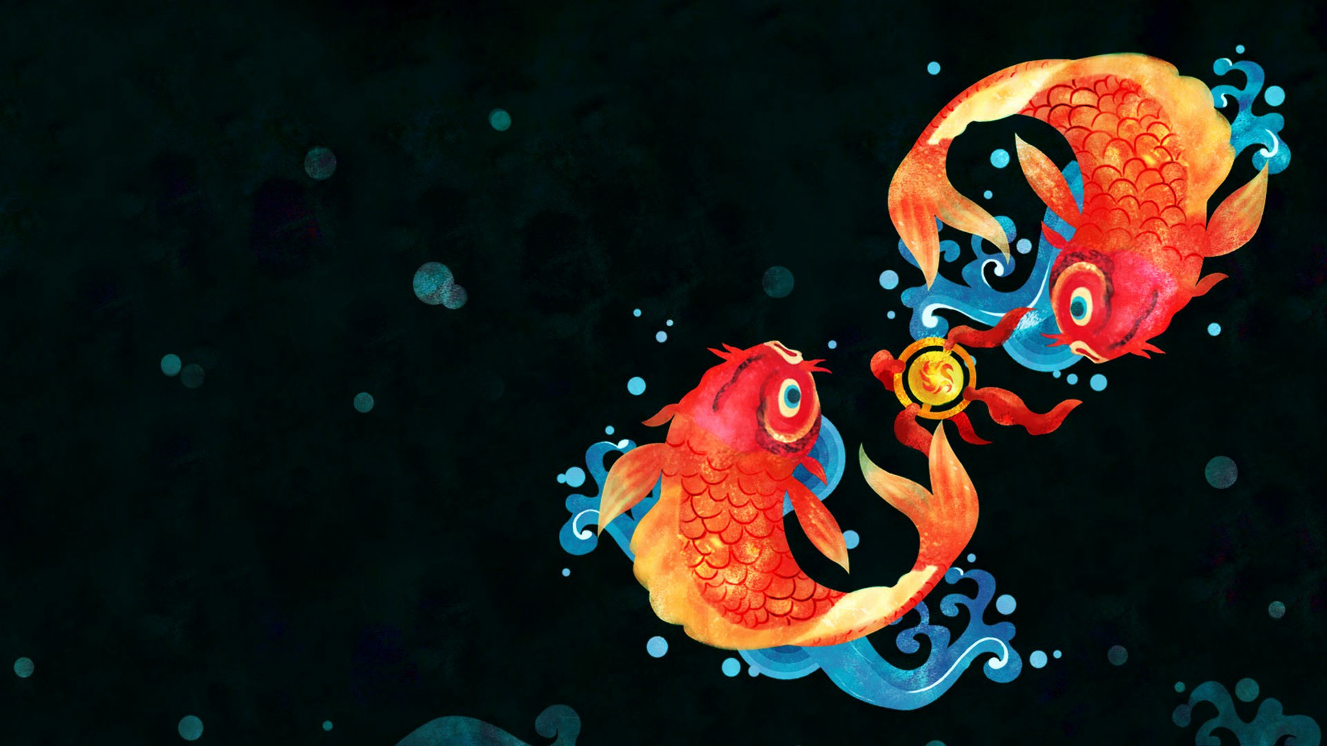 Res: 1920x1080, Fish Wallpaper Live Awesome Goldfish Hd Wallpaper Impremedia