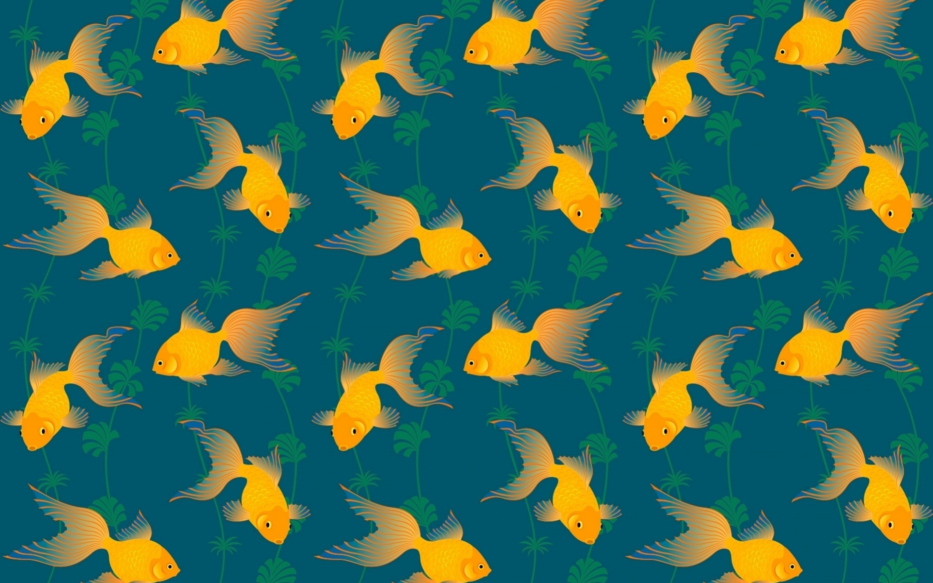 Res: 1920x1200, Image: Gold Fish Pattern wallpapers and stock photos. Â«