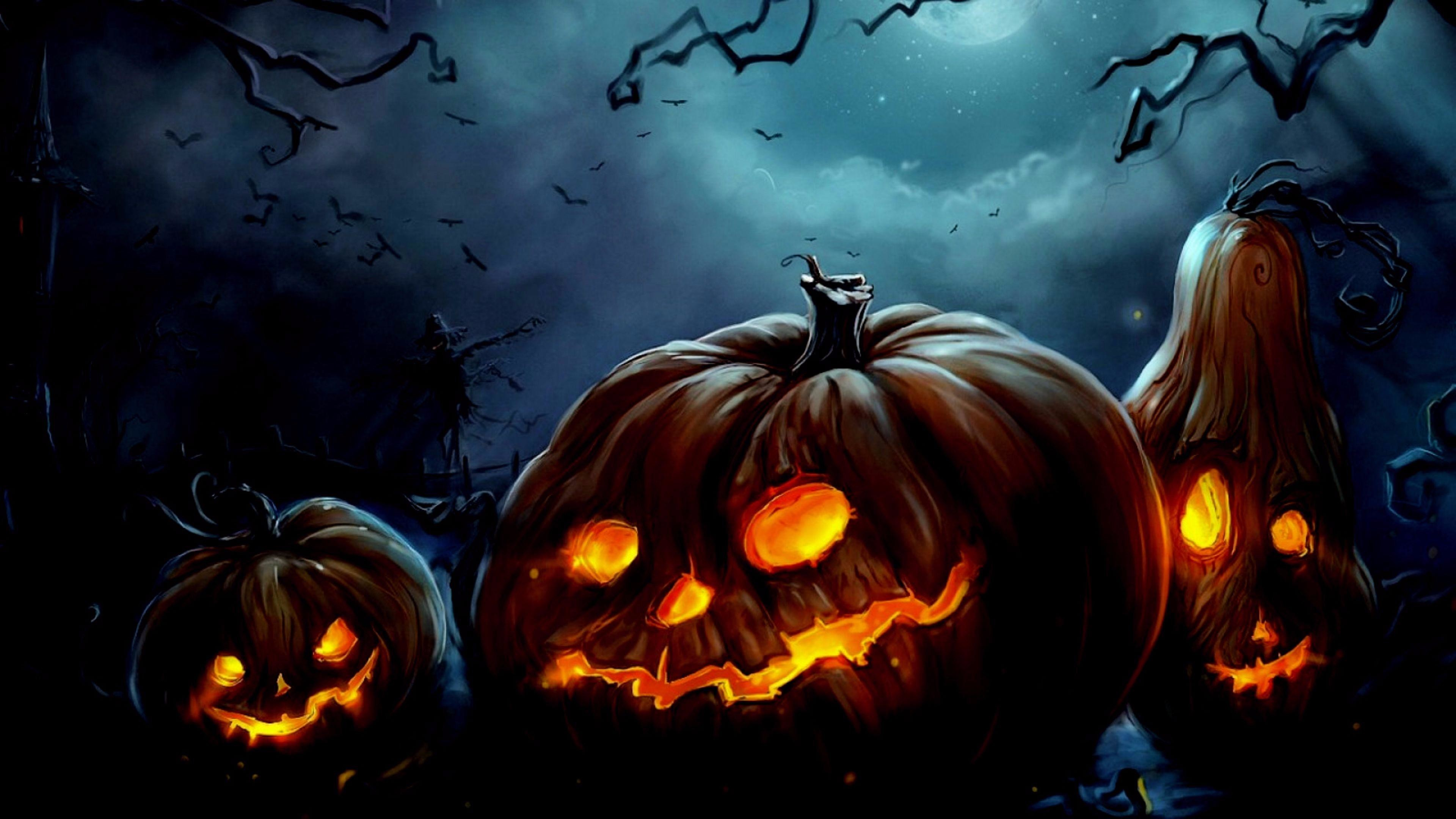 Res: 3840x2160, Happy Halloween Wallpaper | Wallpaper Studio 10 | Tens of thousands HD and  UltraHD wallpapers for Android, Windows and Xbox