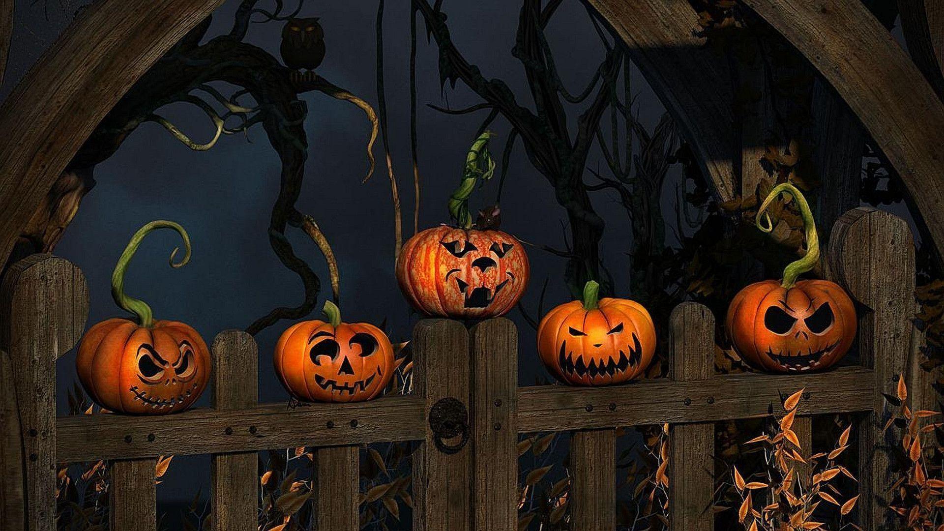 Res: 1920x1080, Halloween Wallpapers 5 - 1920 X 1080
